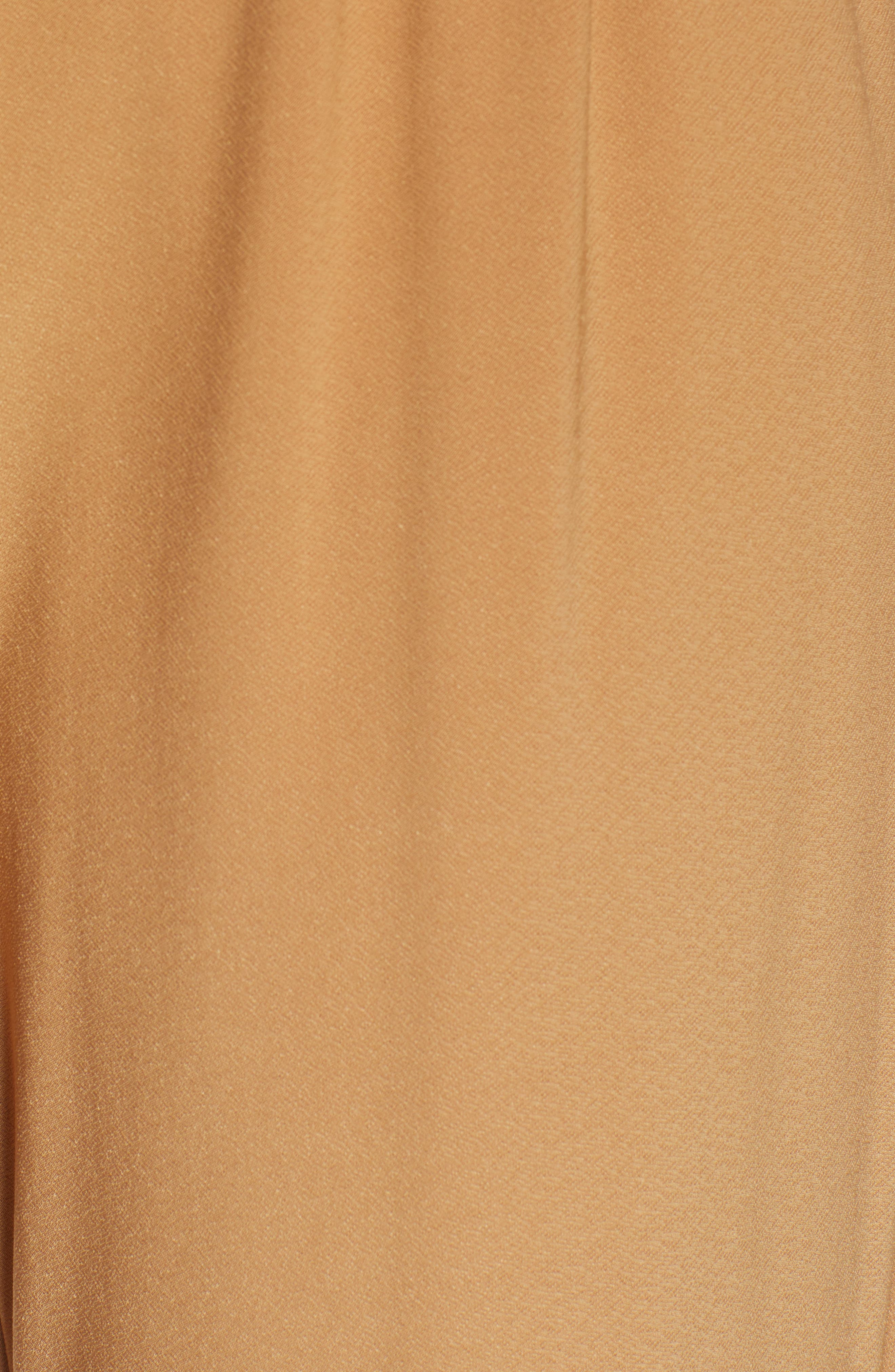 LEITH, Pleat Front Trousers, Alternate thumbnail 6, color, TAN DALE
