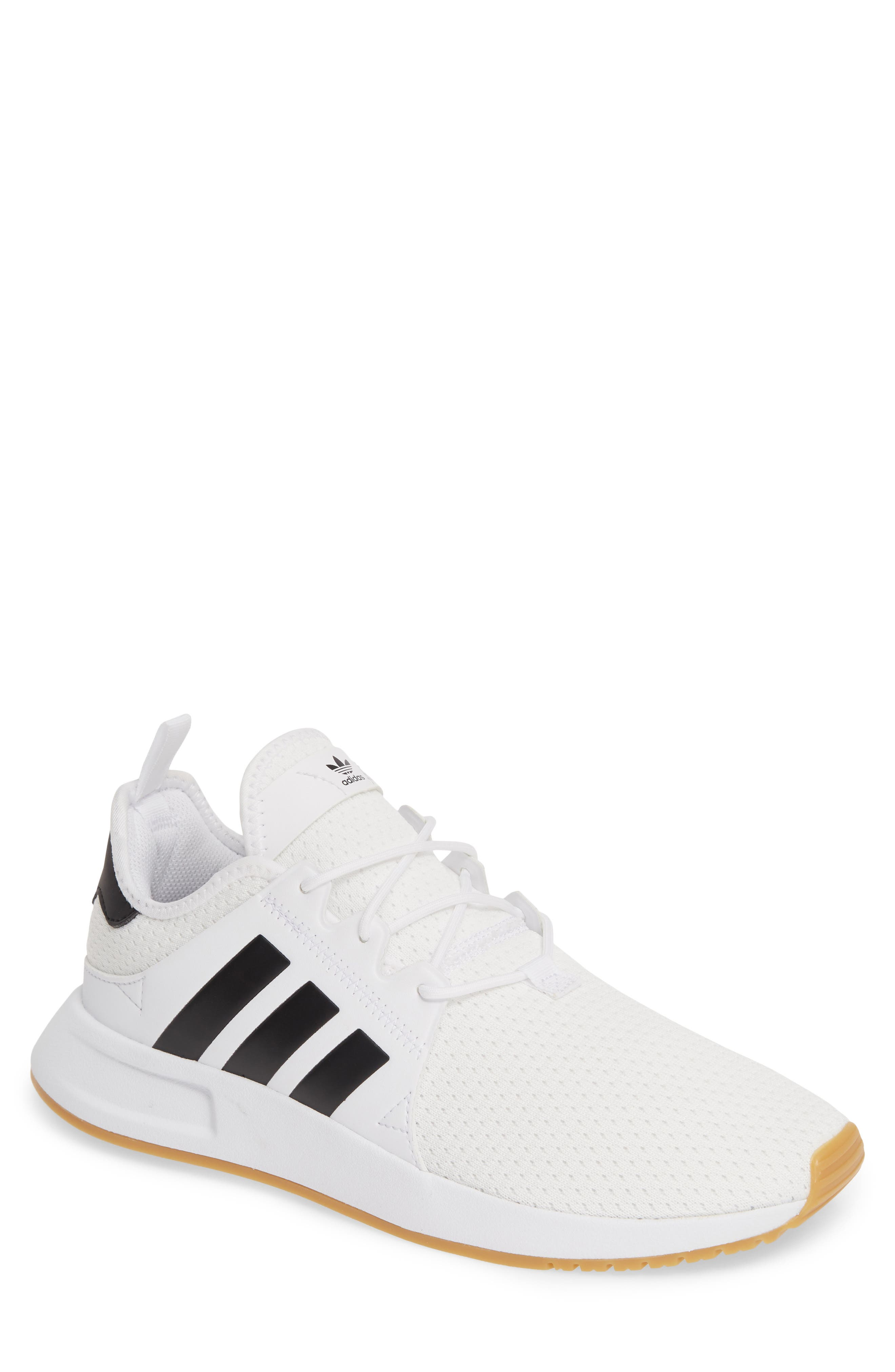 ADIDAS, X_PLR Sneaker, Main thumbnail 1, color, WHITE/ CORE BLACK/ GUM