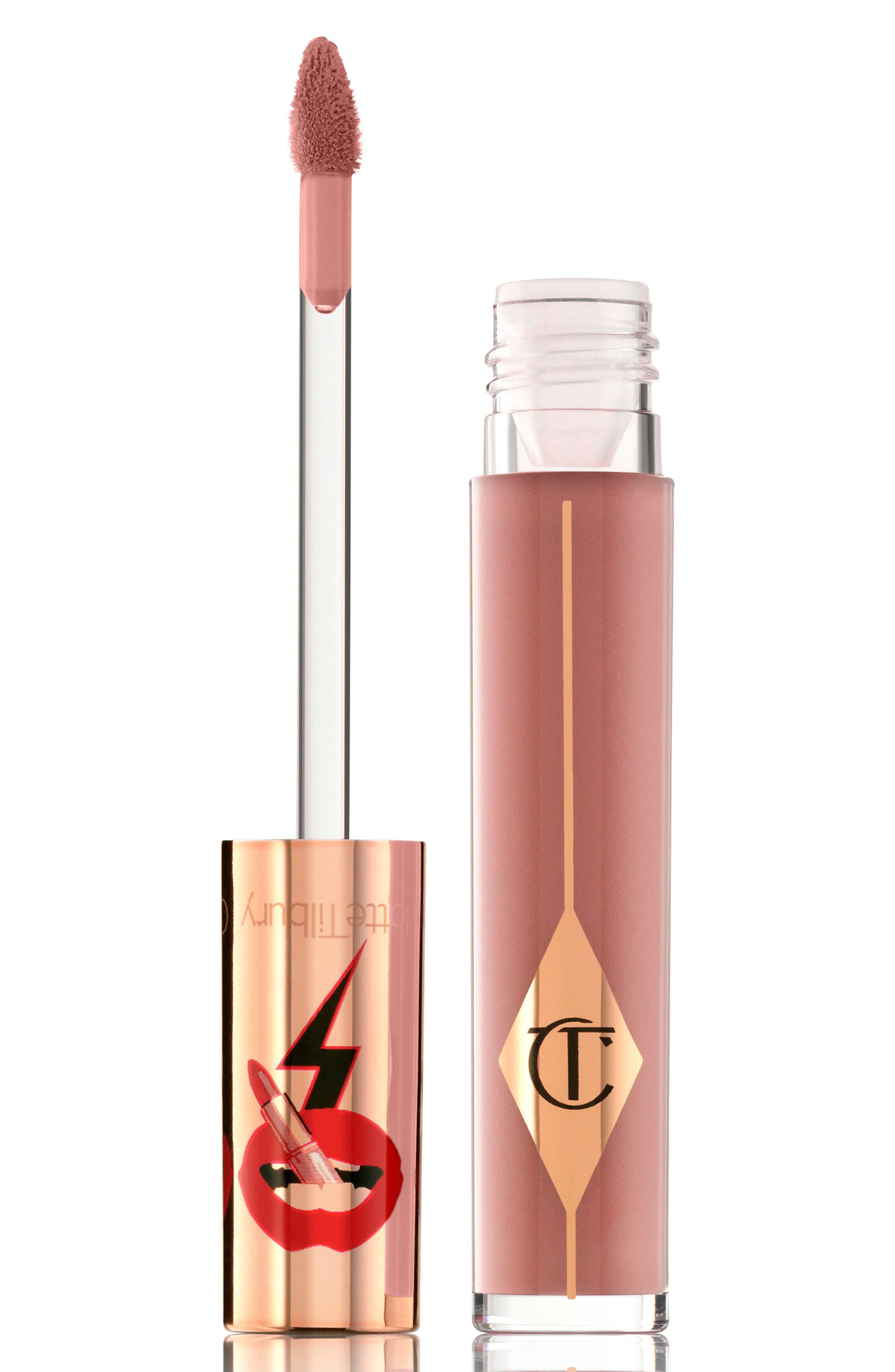 CHARLOTTE TILBURY, Latex Love Lip Gloss, Main thumbnail 1, color, BELLE DU SOIR