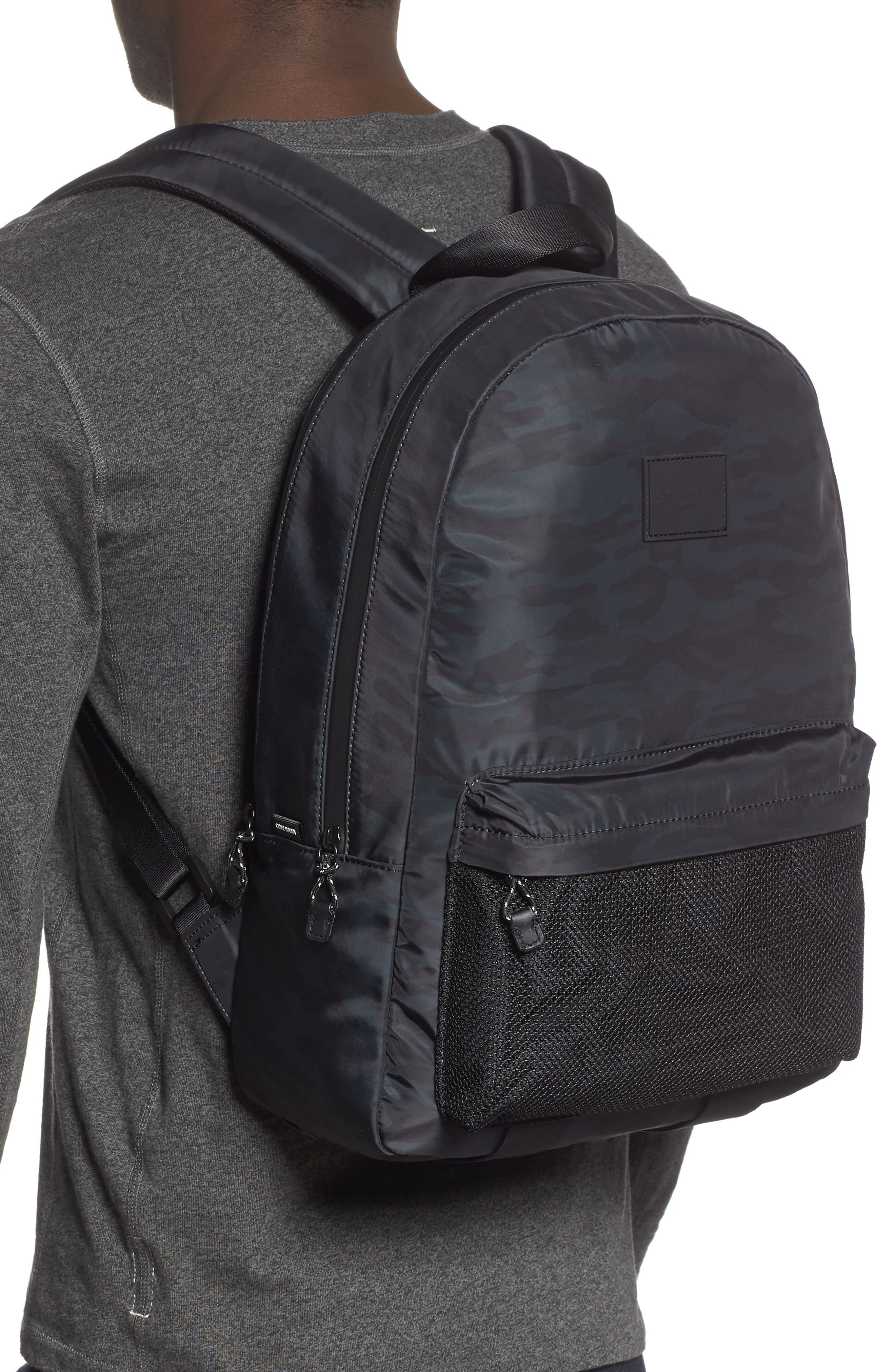 COLE HAAN, Sawyer Backpack, Alternate thumbnail 2, color, CAMO