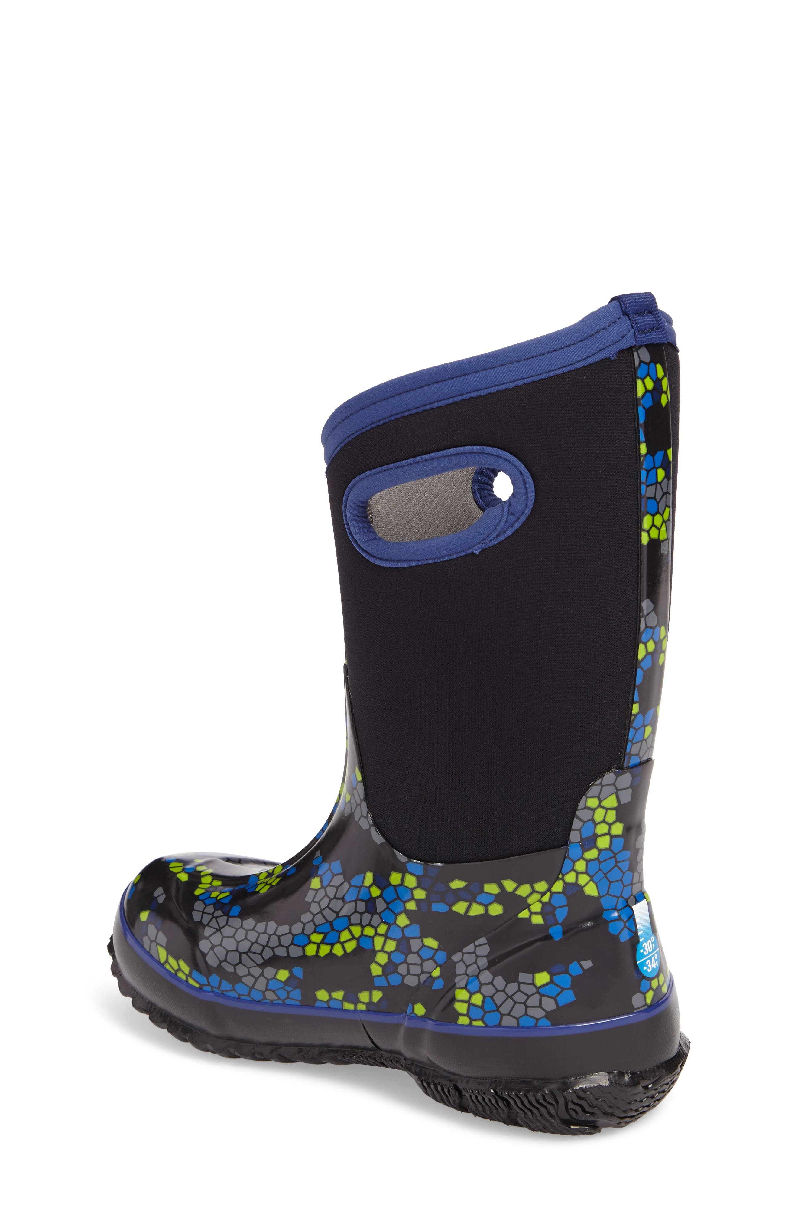 BOGS, Classic Axel Insulated Waterproof Boot, Alternate thumbnail 2, color, BLACK MULTI