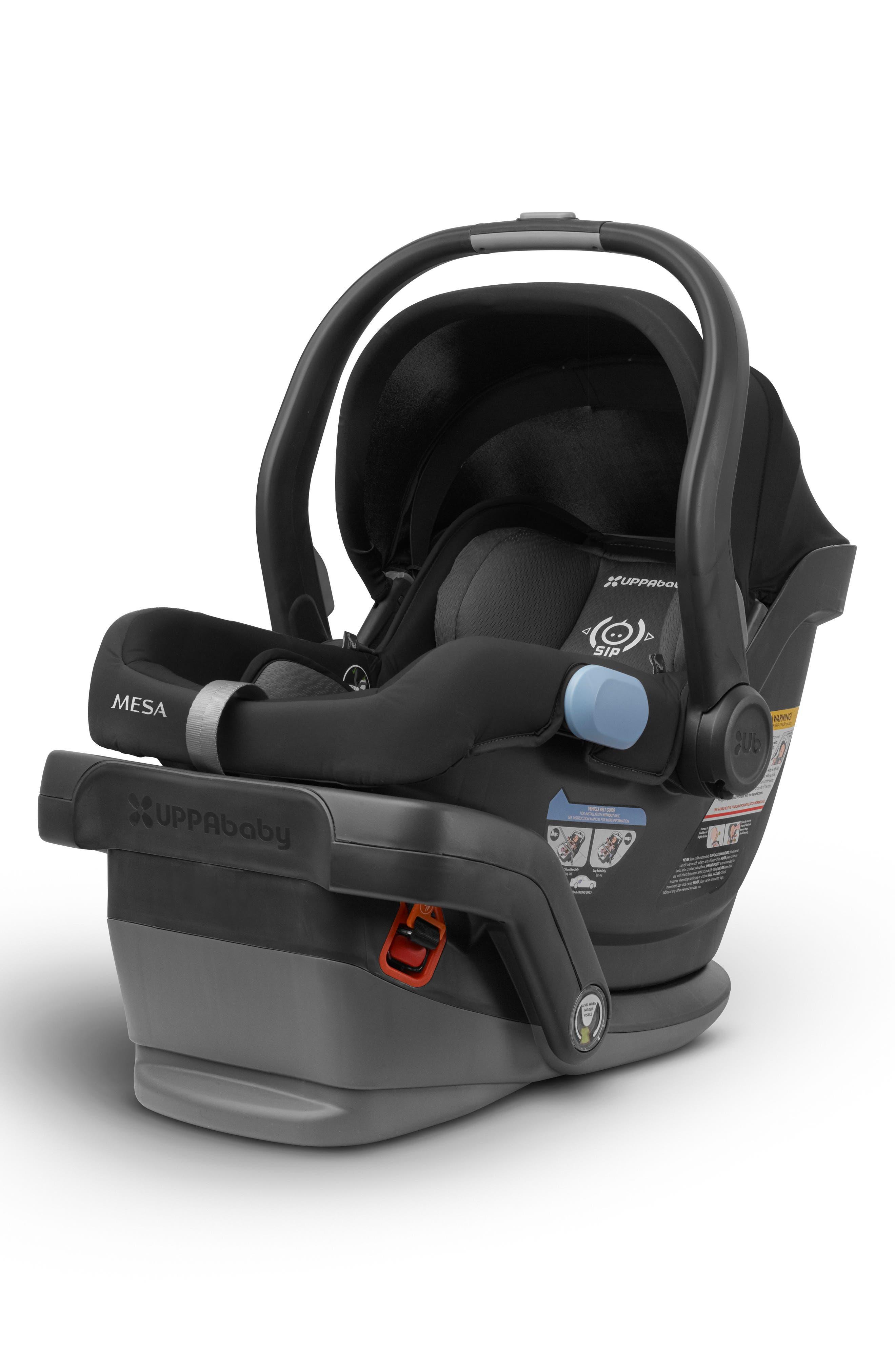 UPPABABY, 2017 MESA Infant Car Seat, Main thumbnail 1, color, BLACK