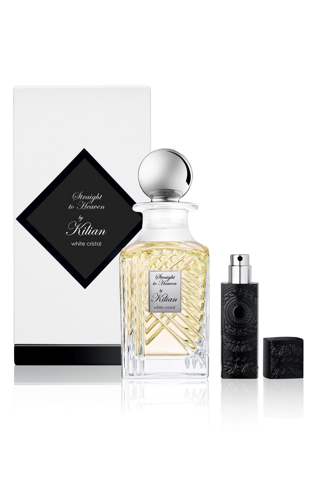 KILIAN, 'L'Oeuvre Noire - Straight to Heaven, white cristal' Mini Fragrance Carafe, Alternate thumbnail 2, color, NO COLOR
