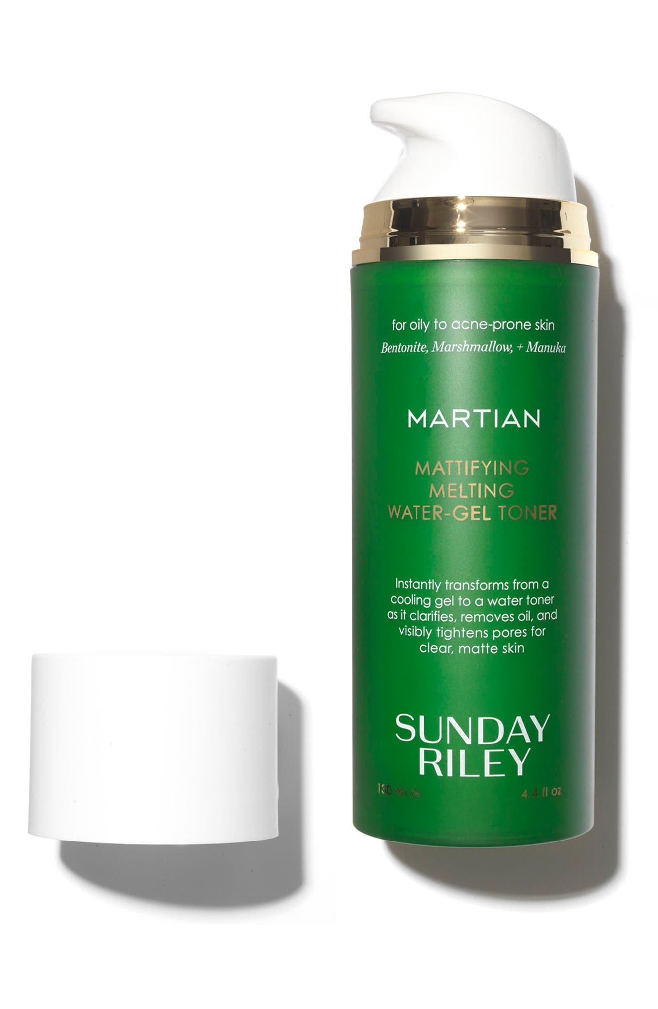 SUNDAY RILEY, SPACE.NK.apothecary Sunday Riley Martian Mattifying Melting Water-Gel Toner, Alternate thumbnail 2, color, NO COLOR