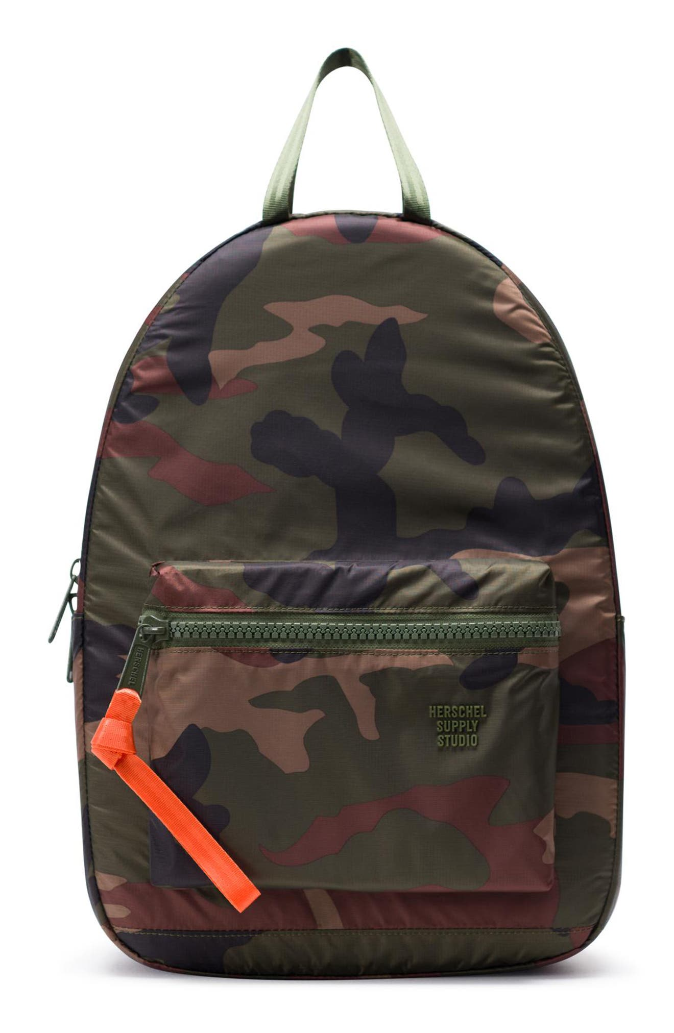 HERSCHEL SUPPLY CO. HS6 Studio Collection Backpack, Main, color, WOODLAND CAMO