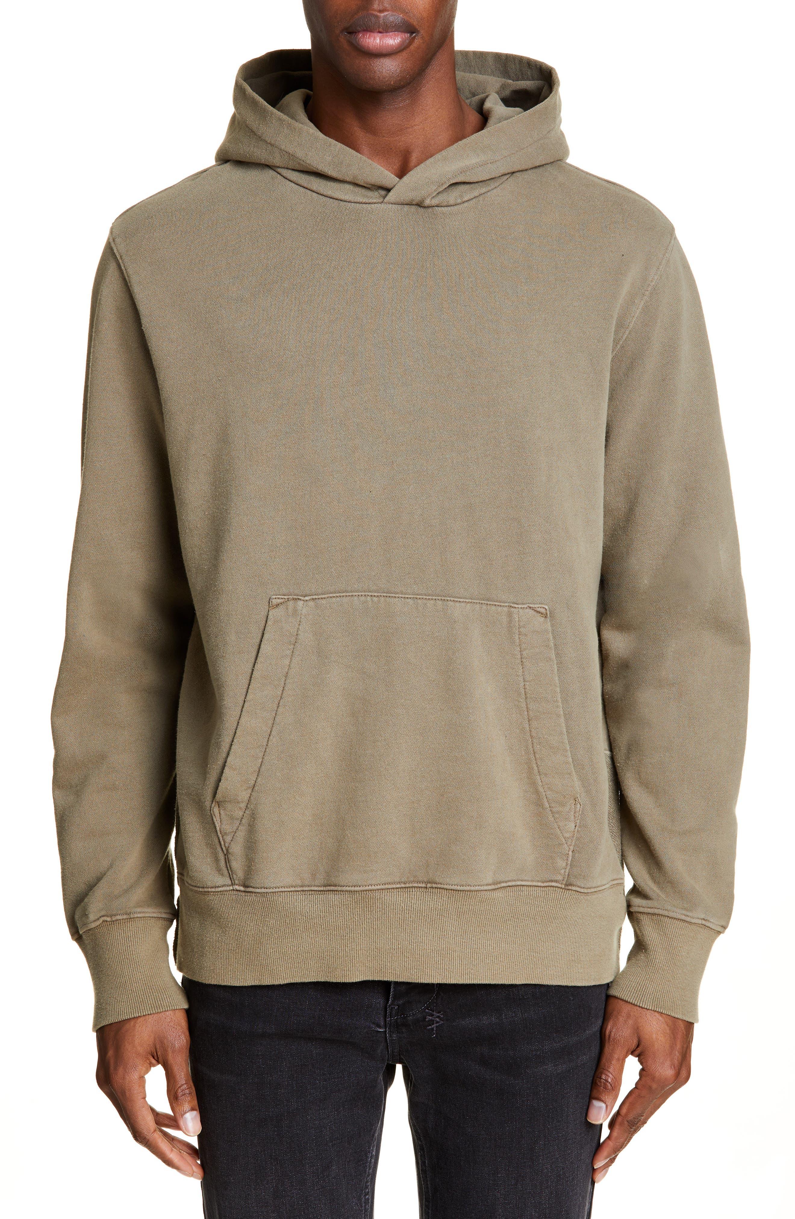 KSUBI Seeing Lines Hooded Sweatshirt, Main, color, BEIGE