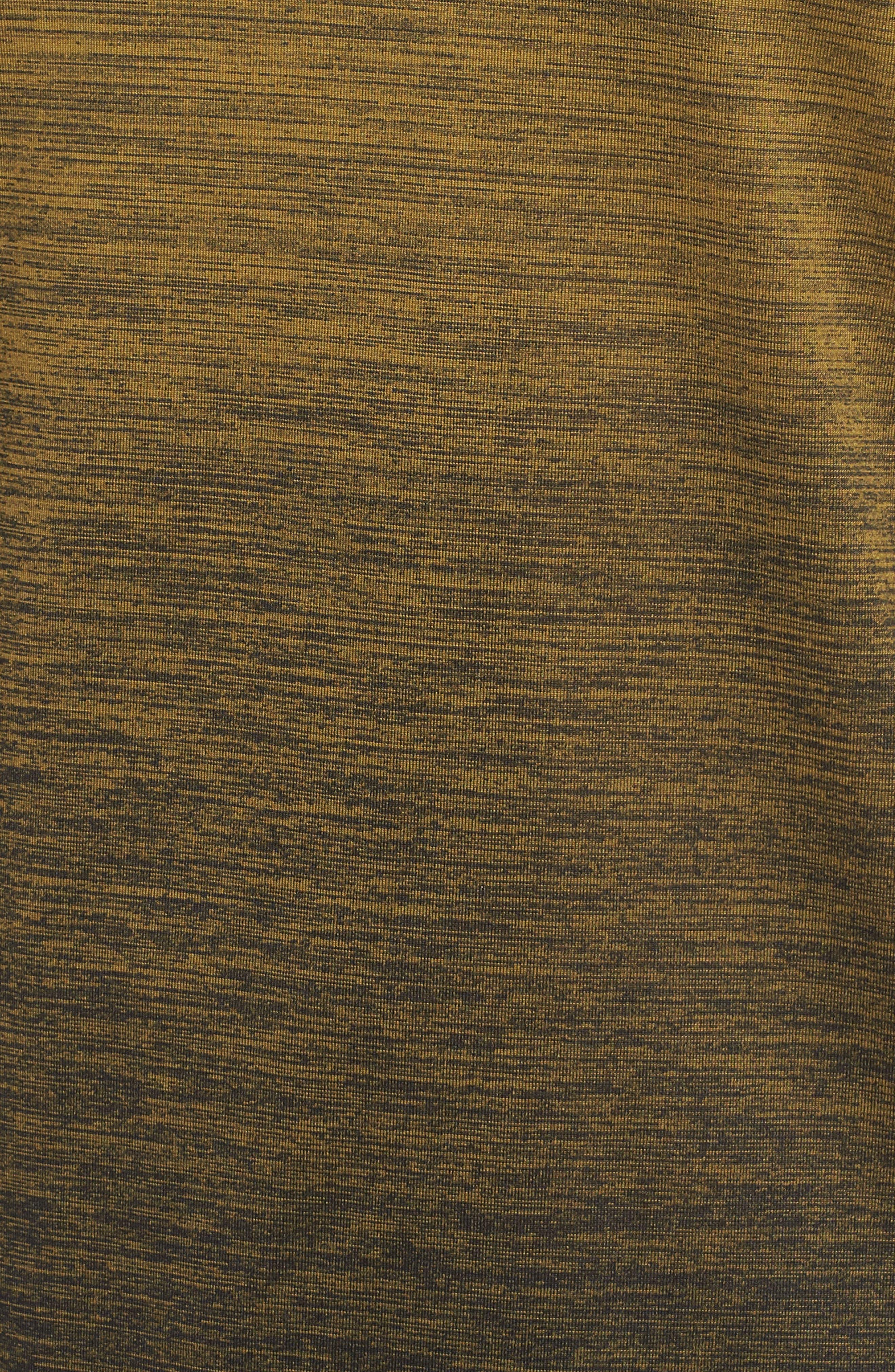 NIKE, Dry Max Training T-Shirt, Alternate thumbnail 5, color, OLIVE FLAK/ BLACK/ COBALT