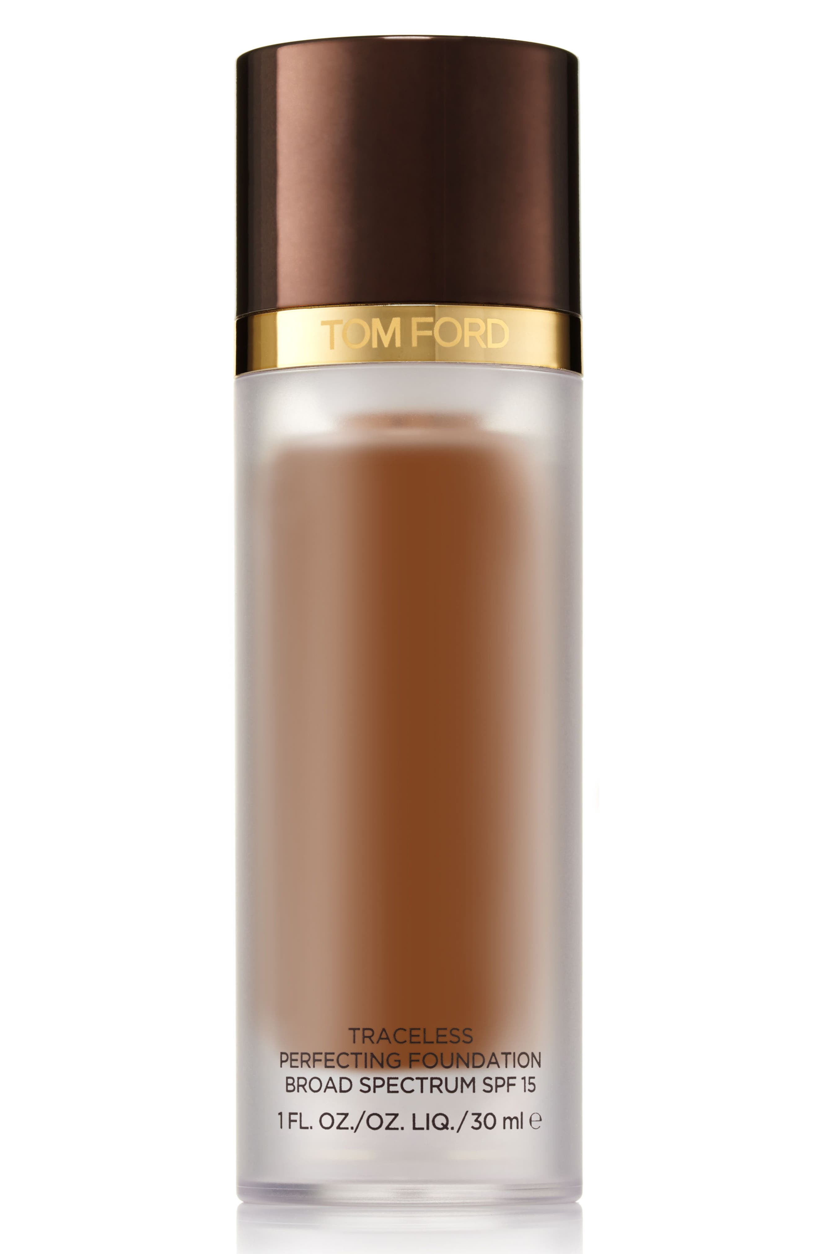 TOM FORD Traceless Perfecting Foundation SPF 15, Main, color, 11.0 DUSK