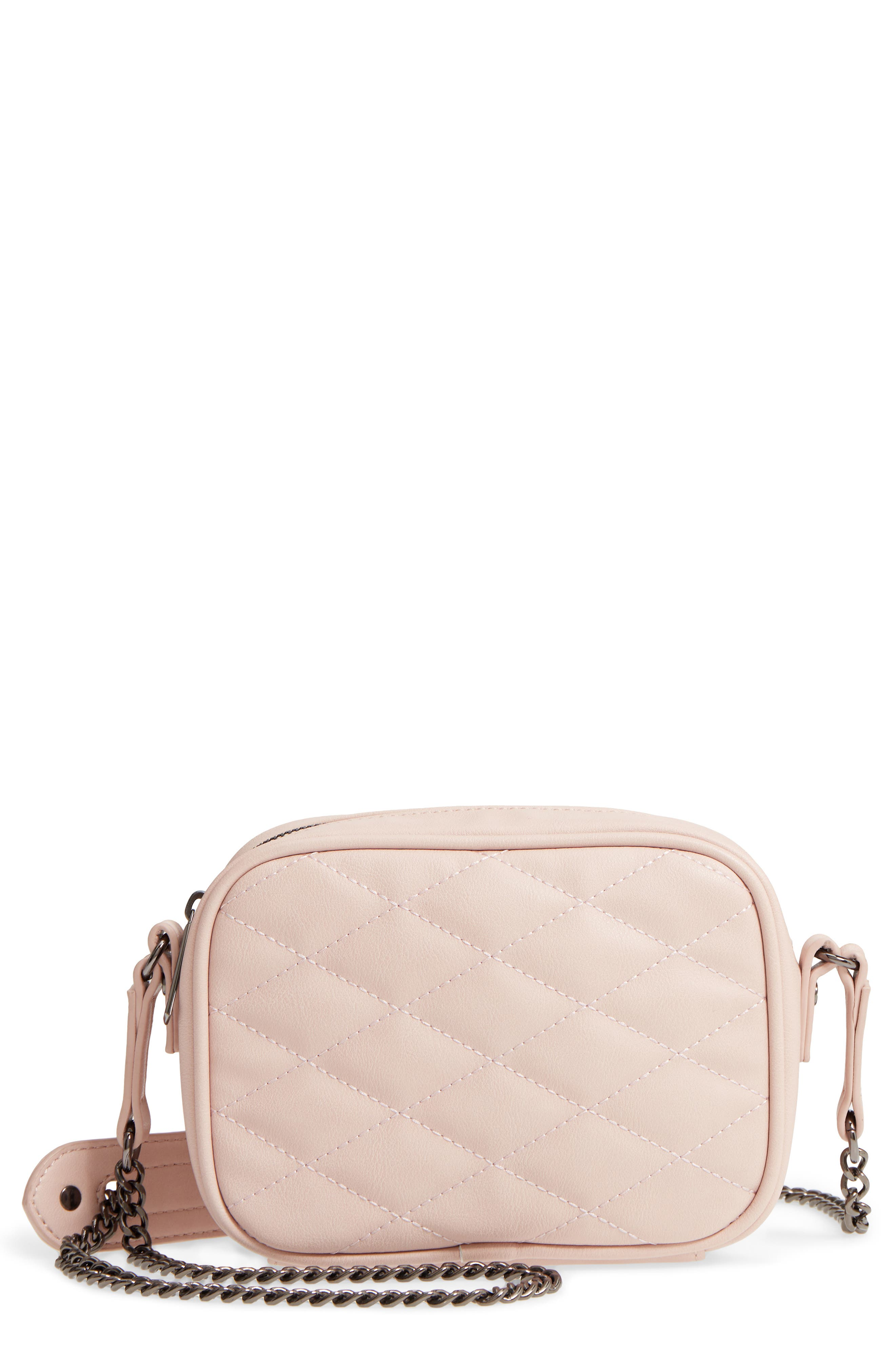 MALI + LILI Taylor Quilted Vegan Leather Crossbody Camera Bag, Main, color, 650