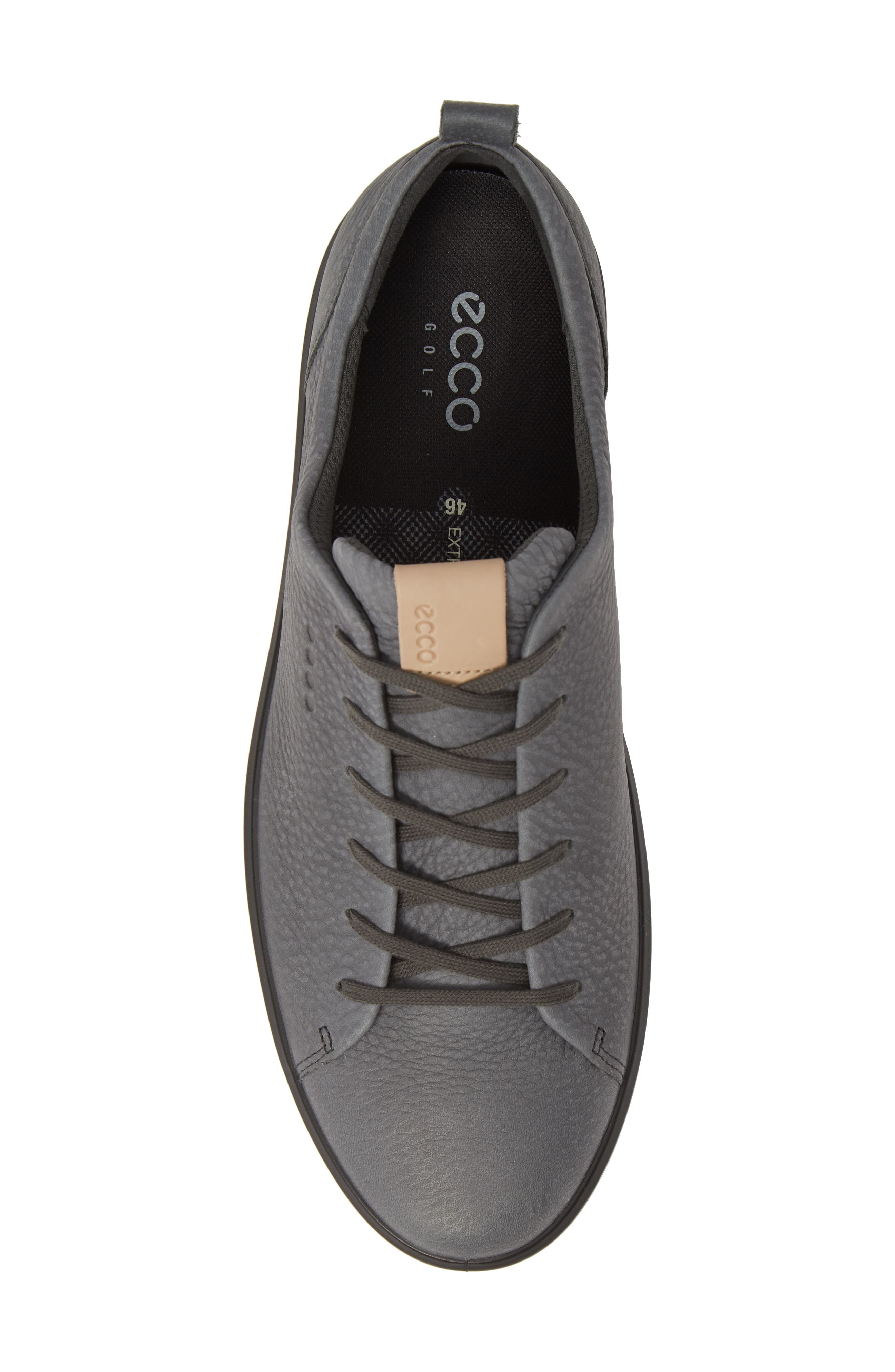 ECCO, Hydromax<sup>®</sup> Golf Shoe, Alternate thumbnail 5, color, DARK SHADOW LEATHER