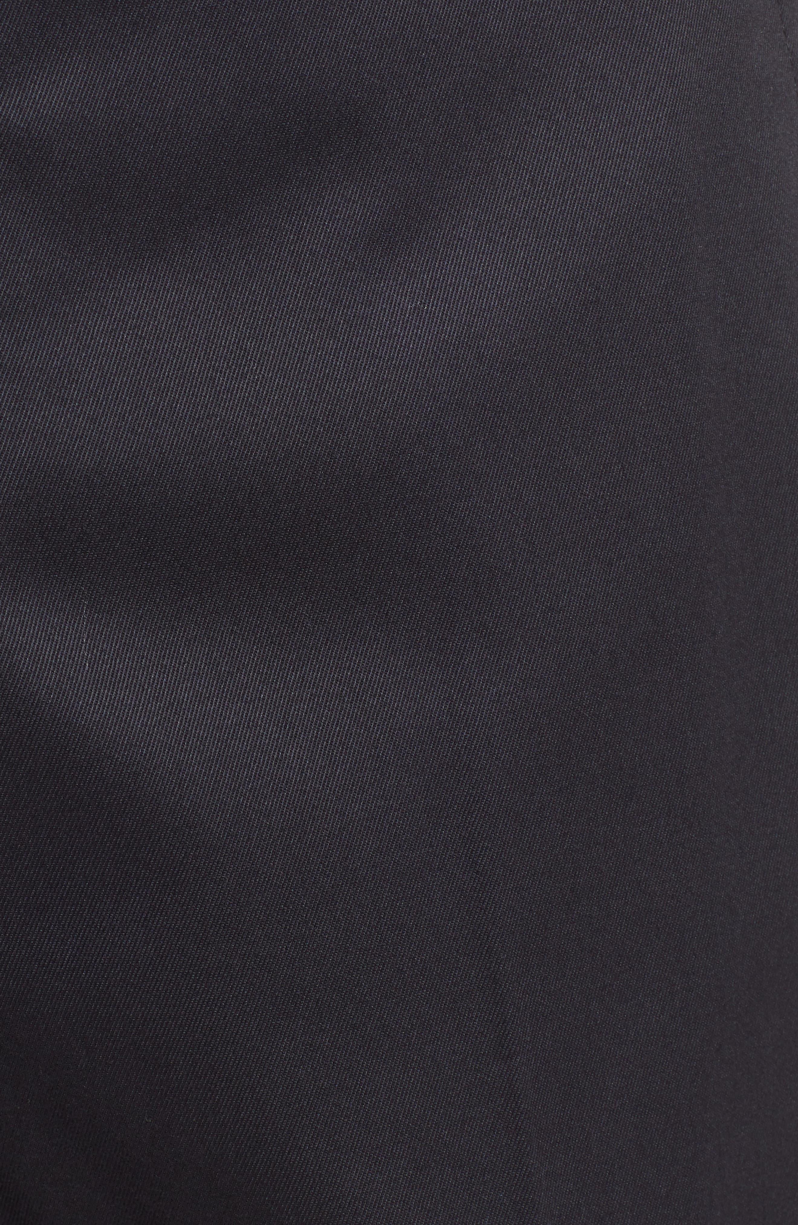 BONOBOS, Weekday Warrior Straight Leg Stretch Dress Pants, Alternate thumbnail 6, color, 001