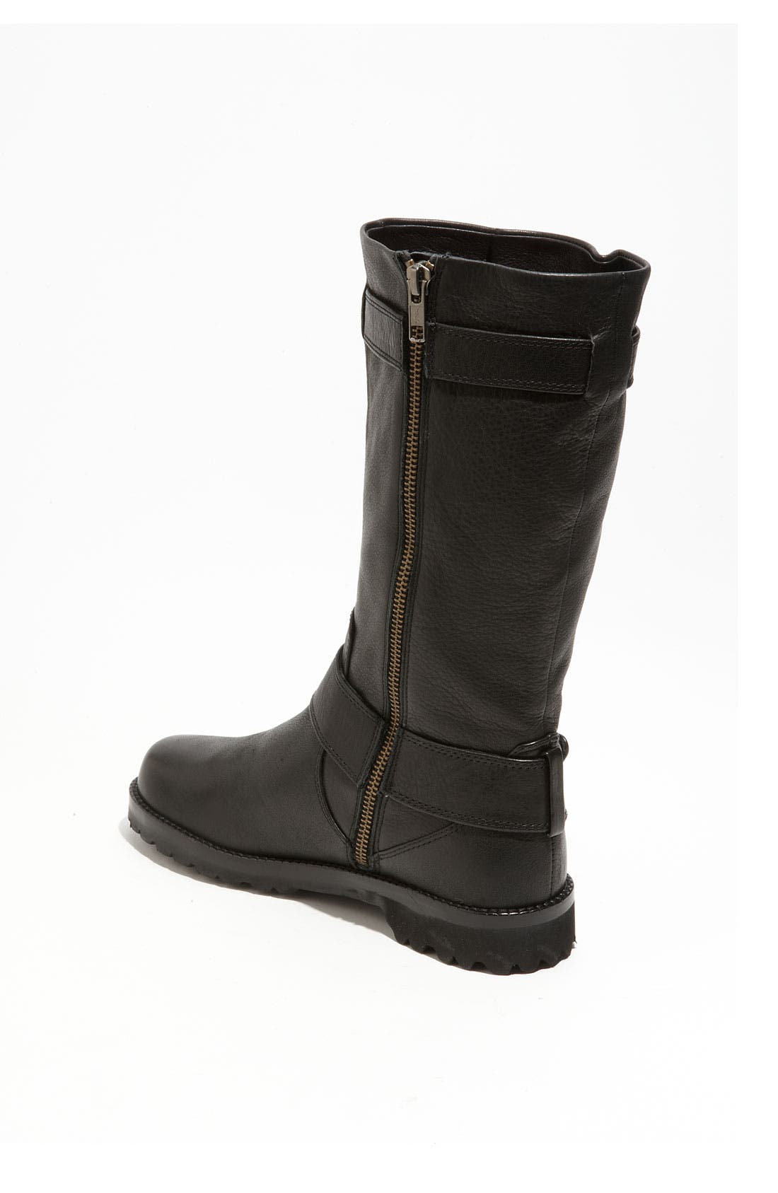GENTLE SOULS BY KENNETH COLE, 'Buckled Up' Boot, Alternate thumbnail 10, color, BLACK