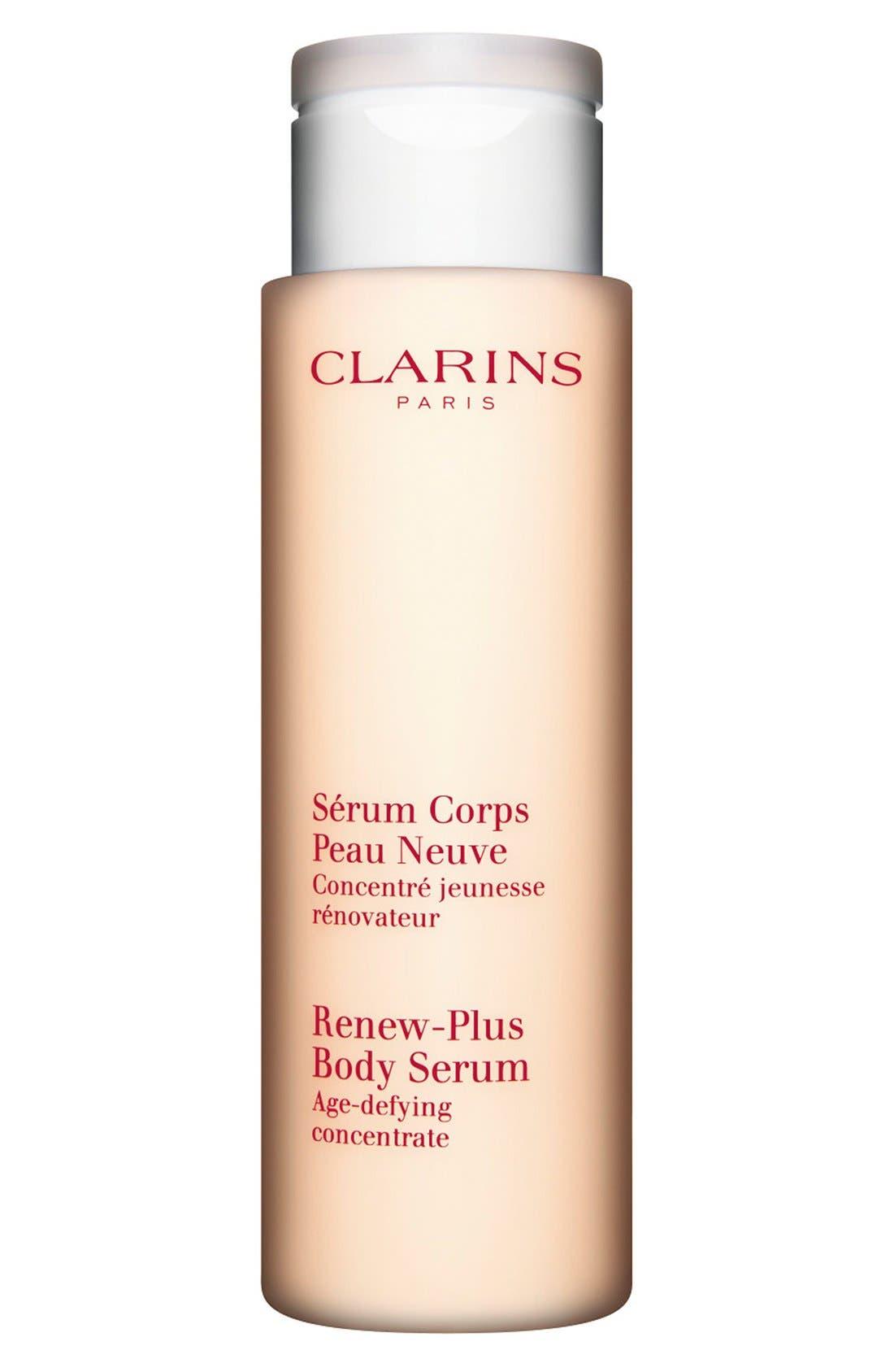 CLARINS, Renew-Plus Body Serum, Main thumbnail 1, color, NO COLOR