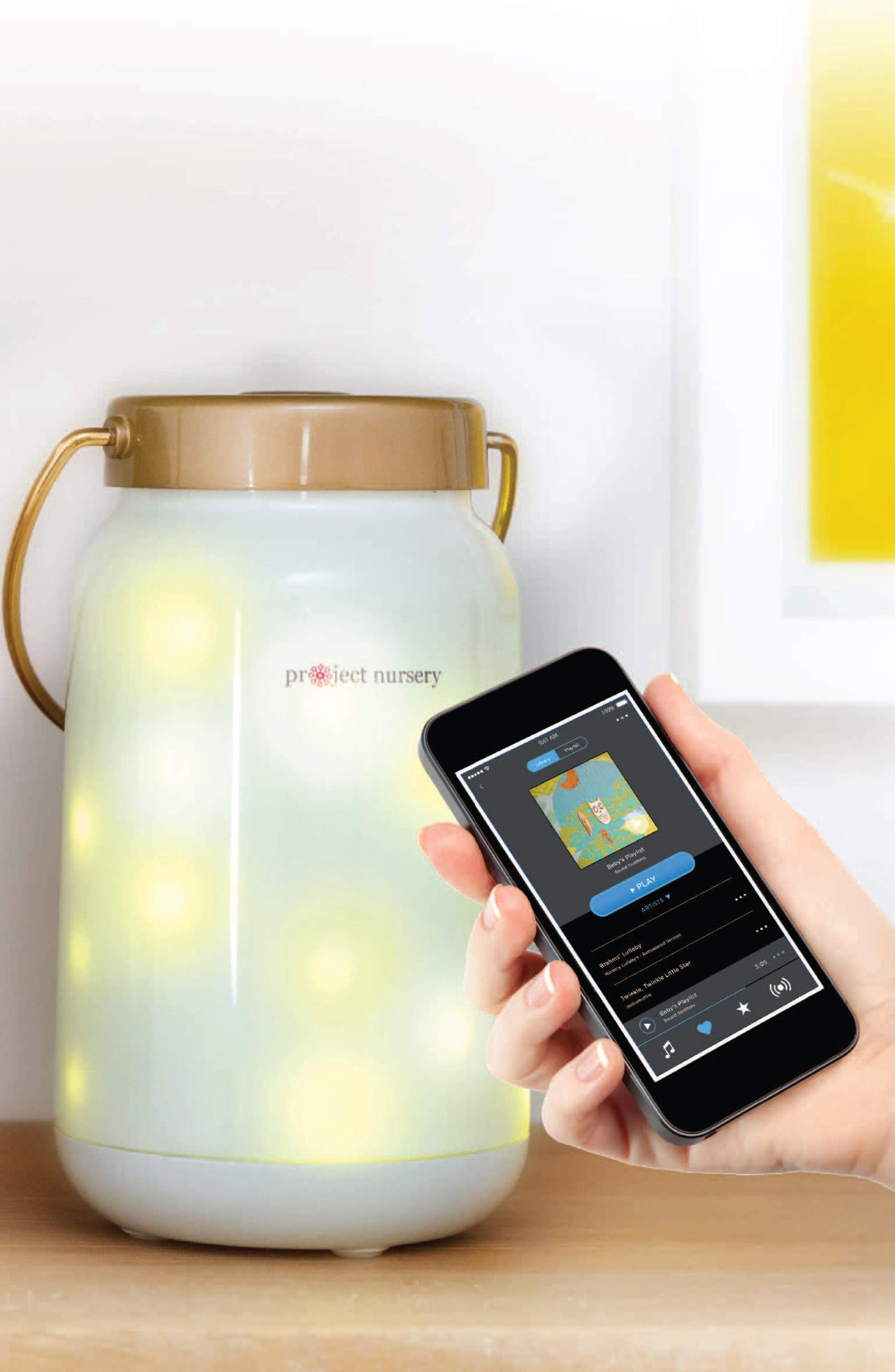PROJECT NURSERY, Dreamweaver Smart Light + Sound Soother, Alternate thumbnail 2, color, 100