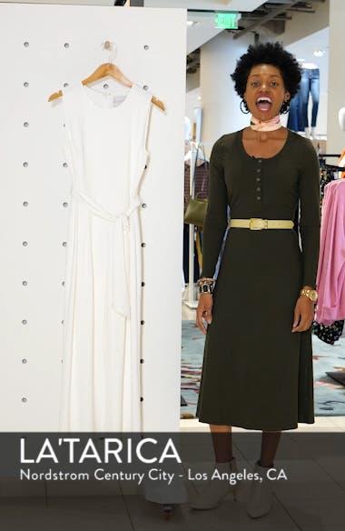 Sleeveless Culotte Jumpsuit, sales video thumbnail