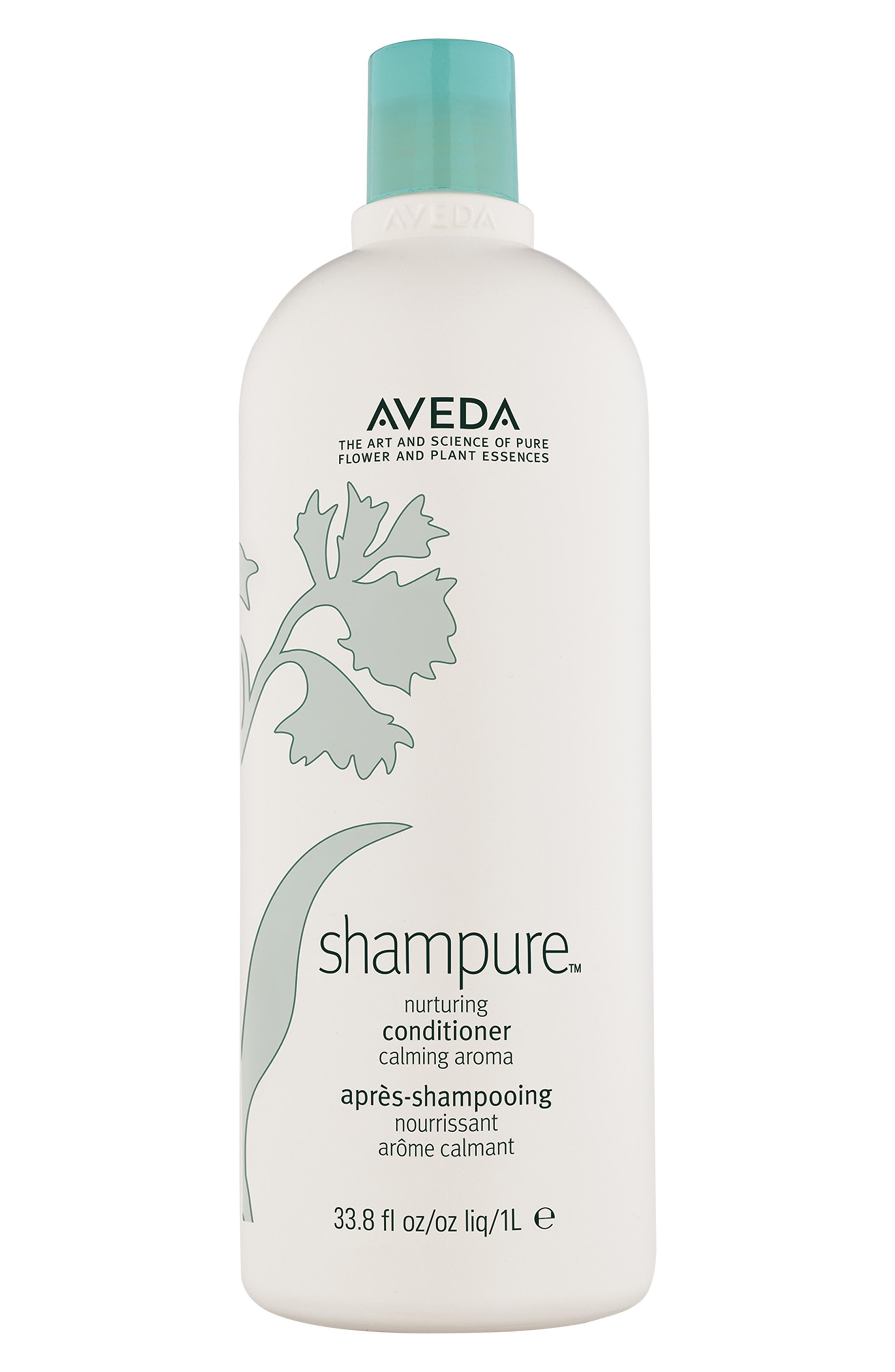 AVEDA, shampure<sup>™</sup> Nurturing Conditioner, Alternate thumbnail 4, color, NO COLOR