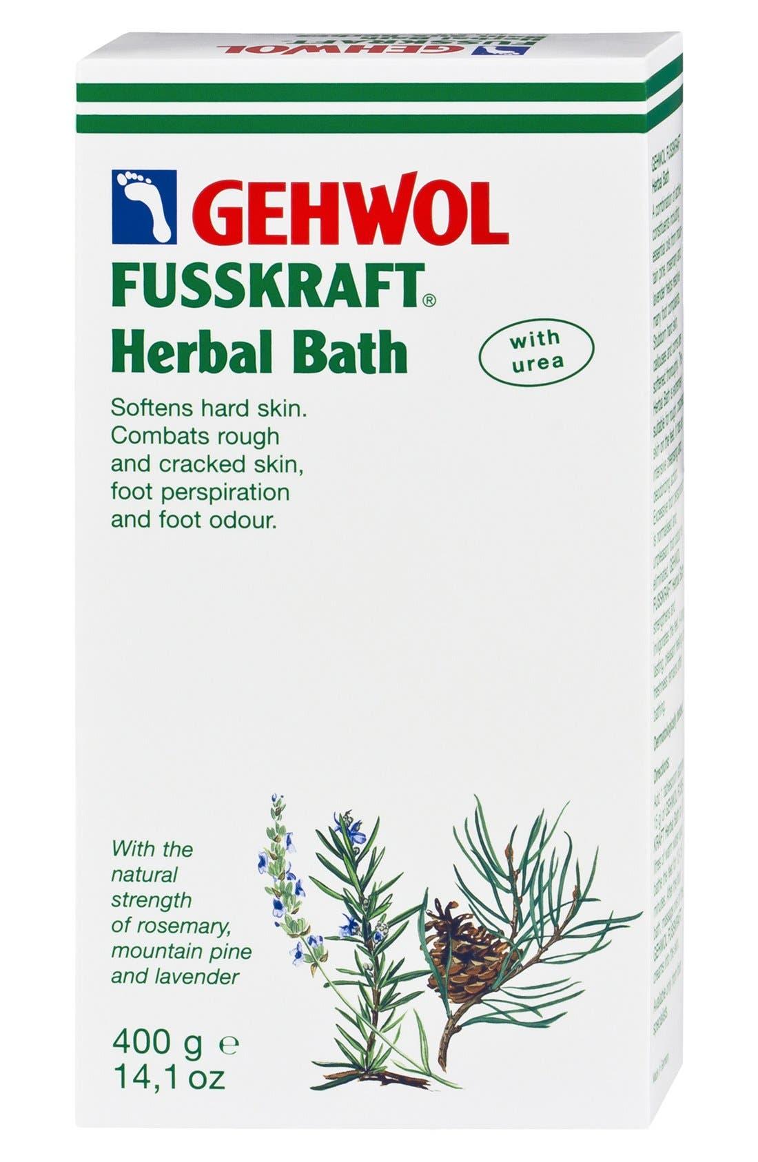 GEHWOL,  FUSSKRAFT<sup>®</sup> Herbal Bath, Main thumbnail 1, color, NO COLOR