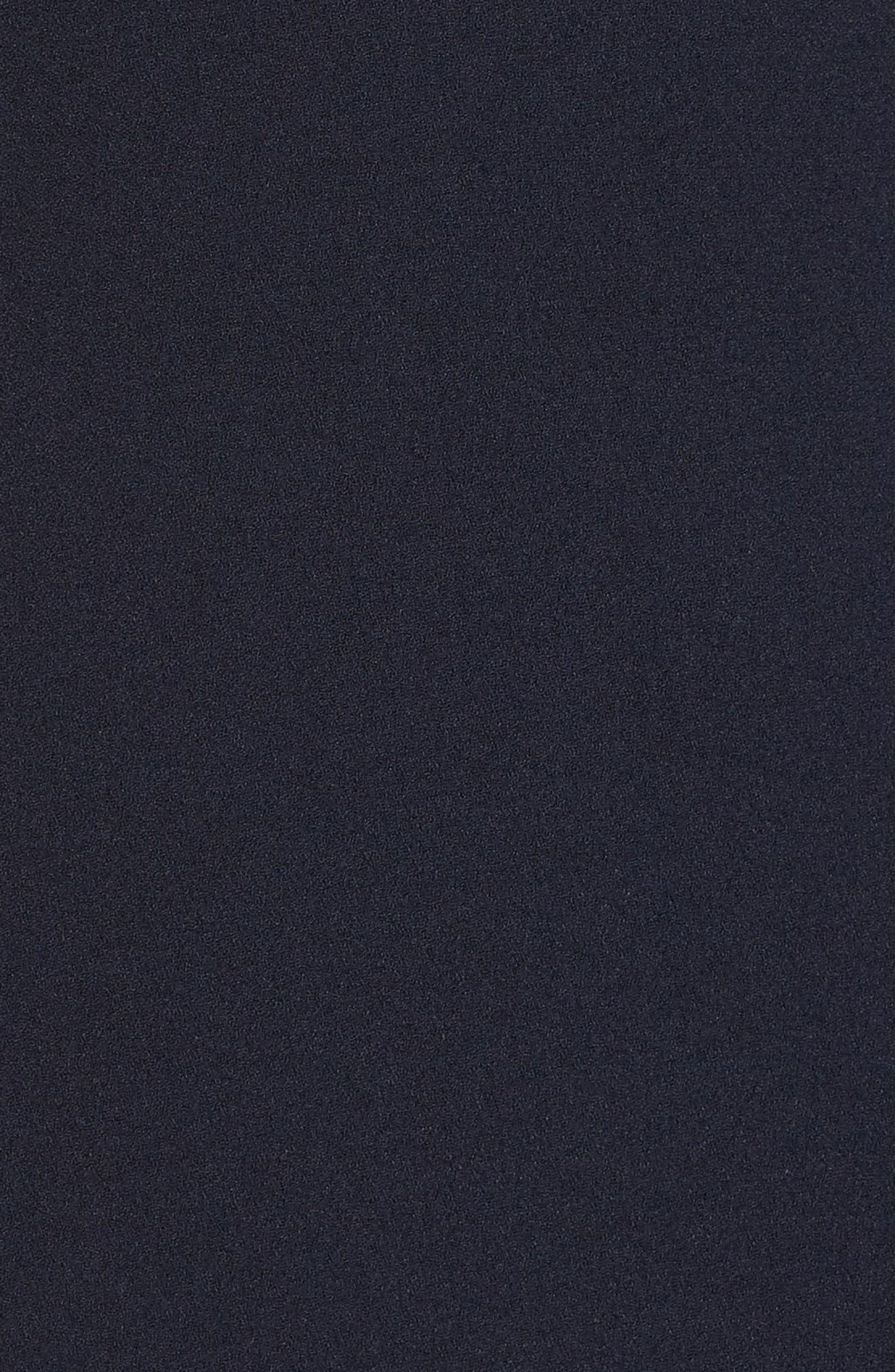 ELIZA J, Cascade Ruffle Gown, Alternate thumbnail 6, color, 410