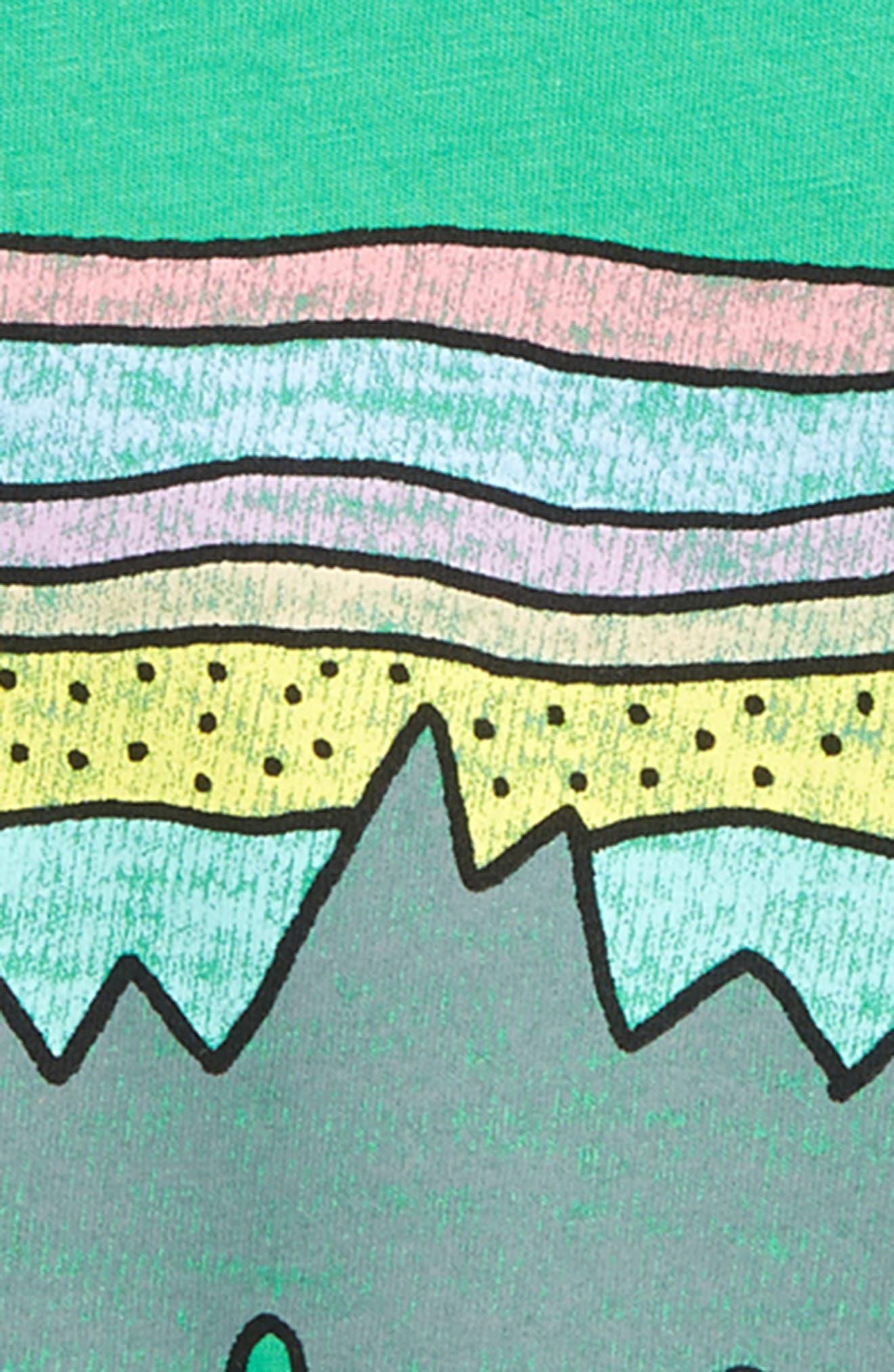 PATAGONIA, Fitz Roy Skies Graphic Organic Cotton T-Shirt, Alternate thumbnail 2, color, 300