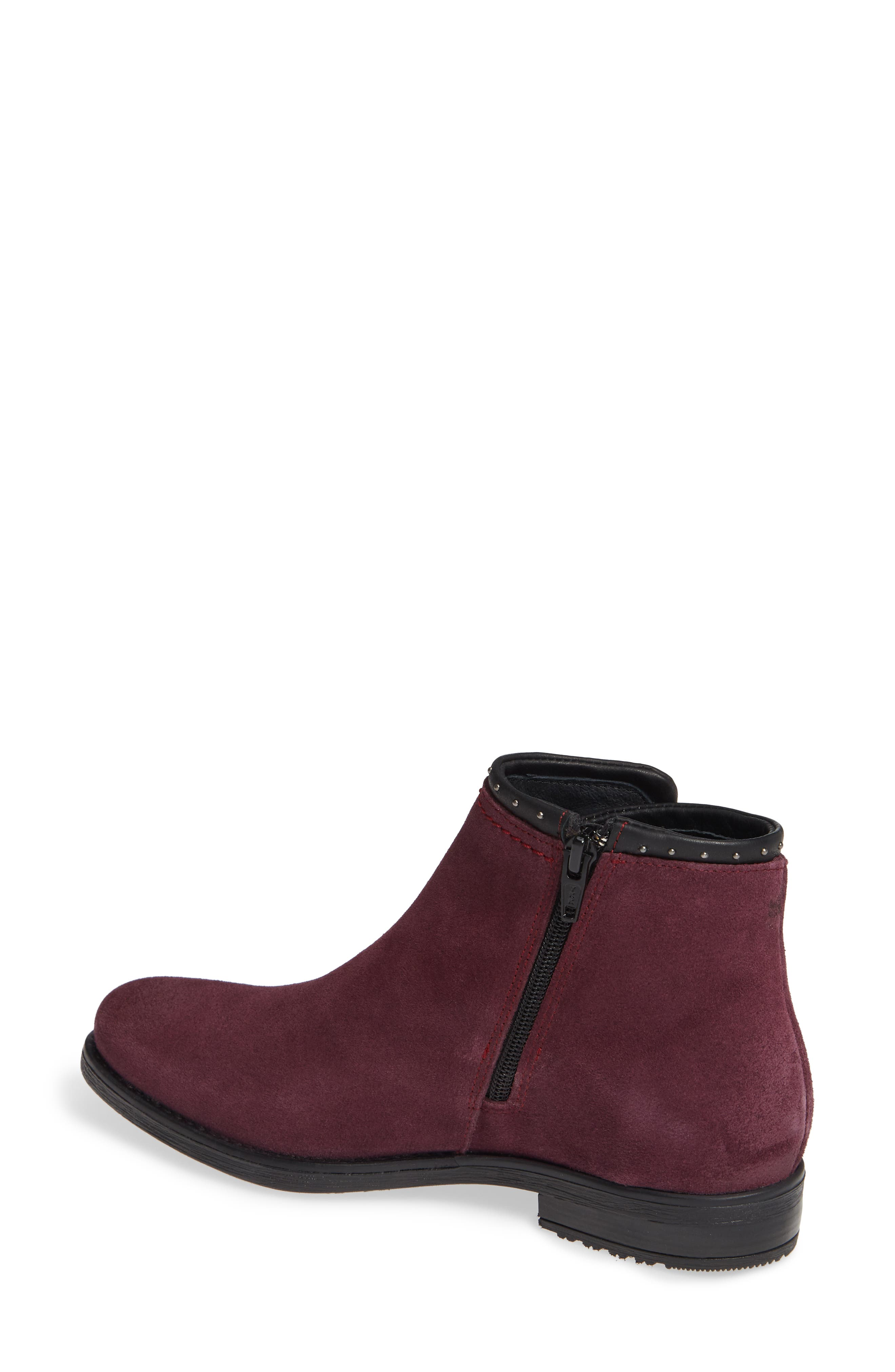 BOS. & CO., Ribos Bootie, Alternate thumbnail 2, color, PRUNE SUEDE
