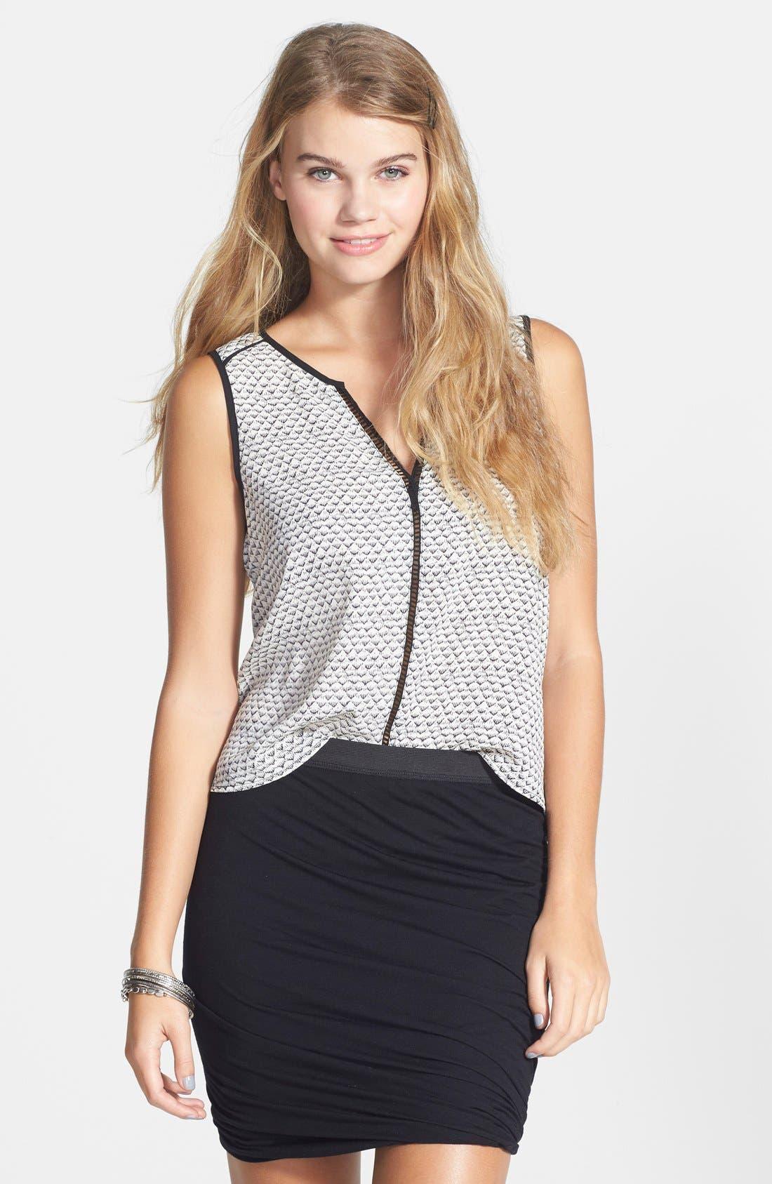 --- Bandage Wrap Skirt, Main, color, 001