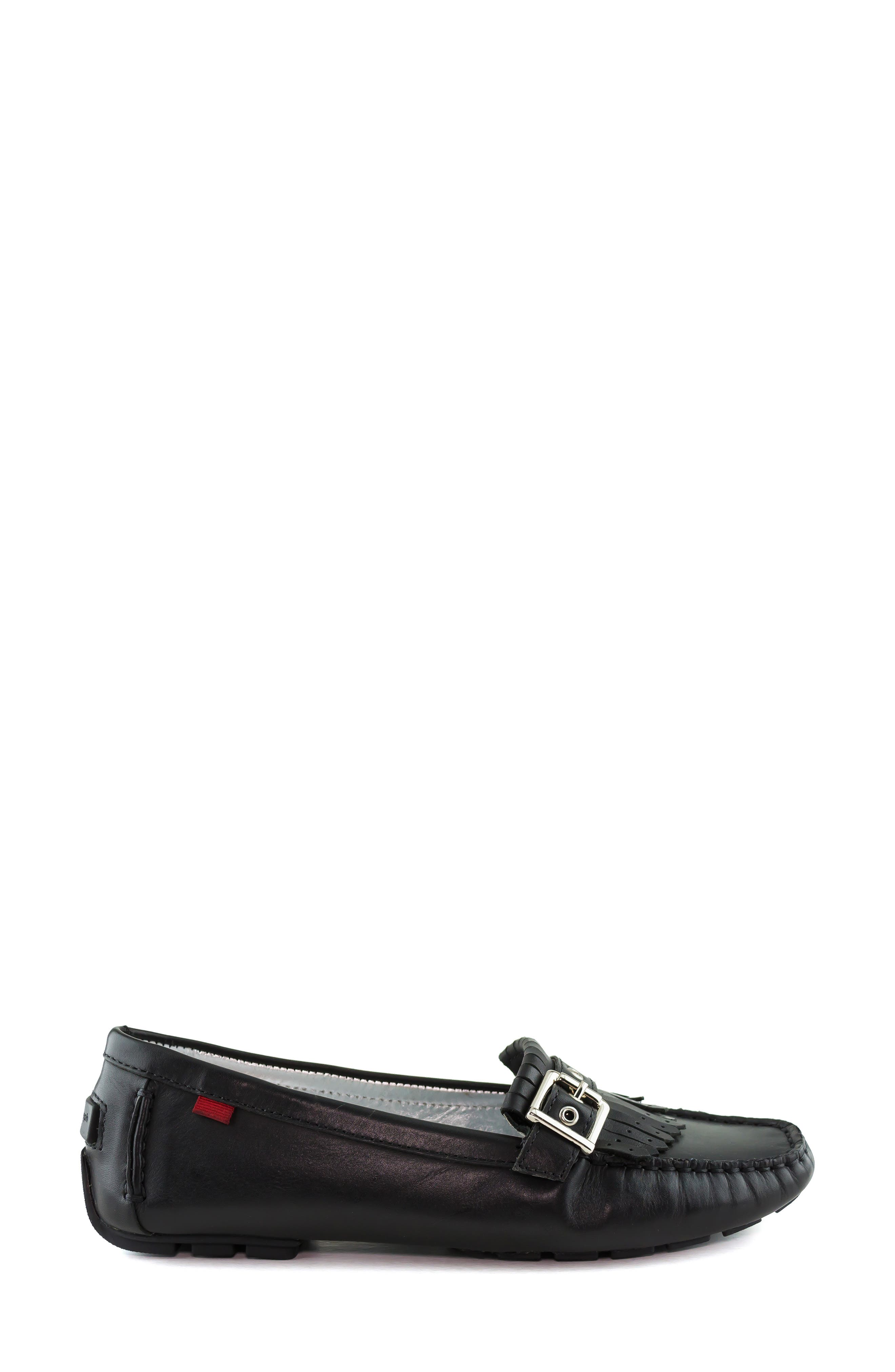 MARC JOSEPH NEW YORK, South Street Loafer, Alternate thumbnail 3, color, BLACK LEATHER