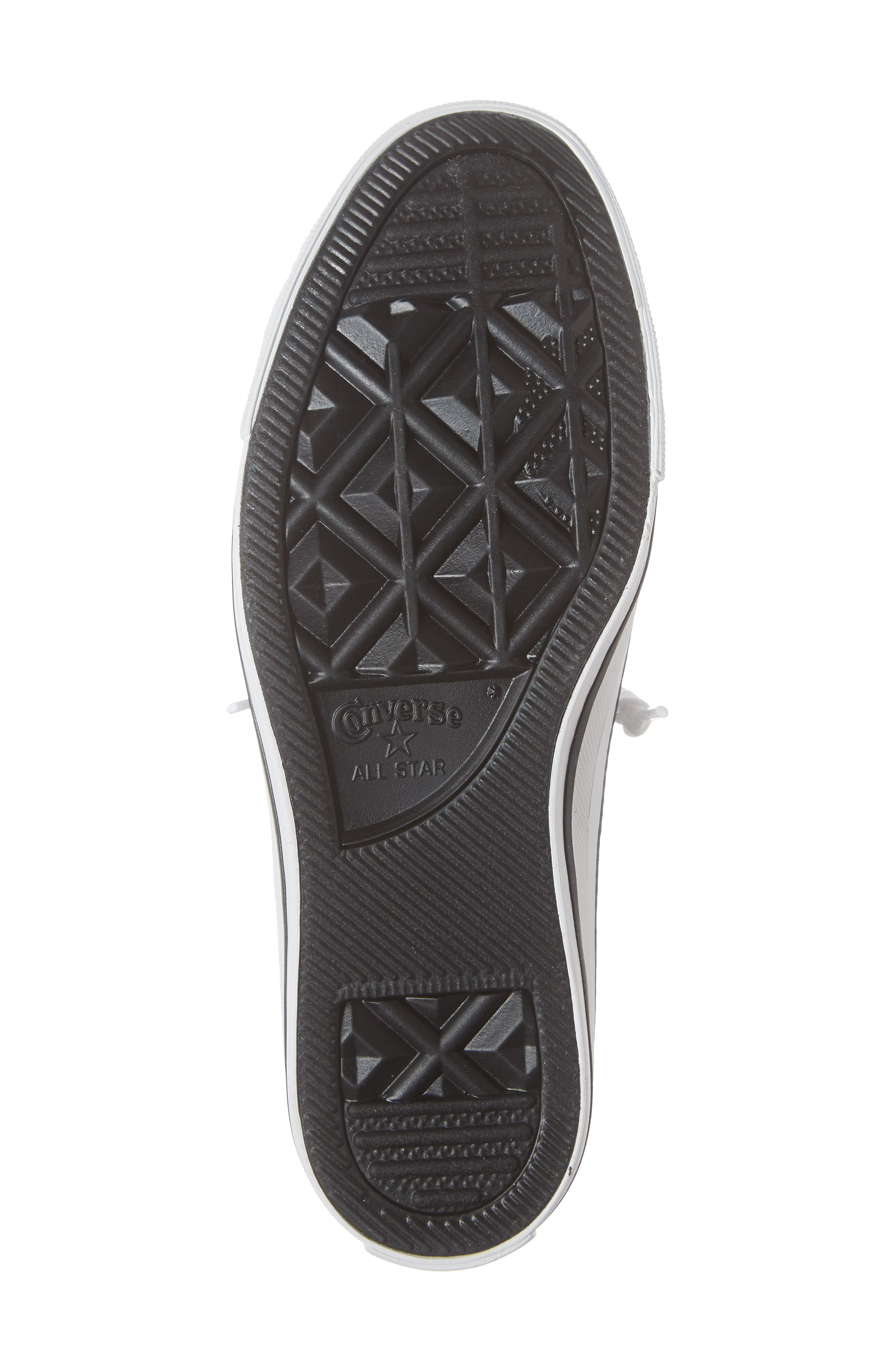 CONVERSE, Chuck Taylor<sup>®</sup> 'Shoreline' Sneaker, Alternate thumbnail 6, color, WHITE