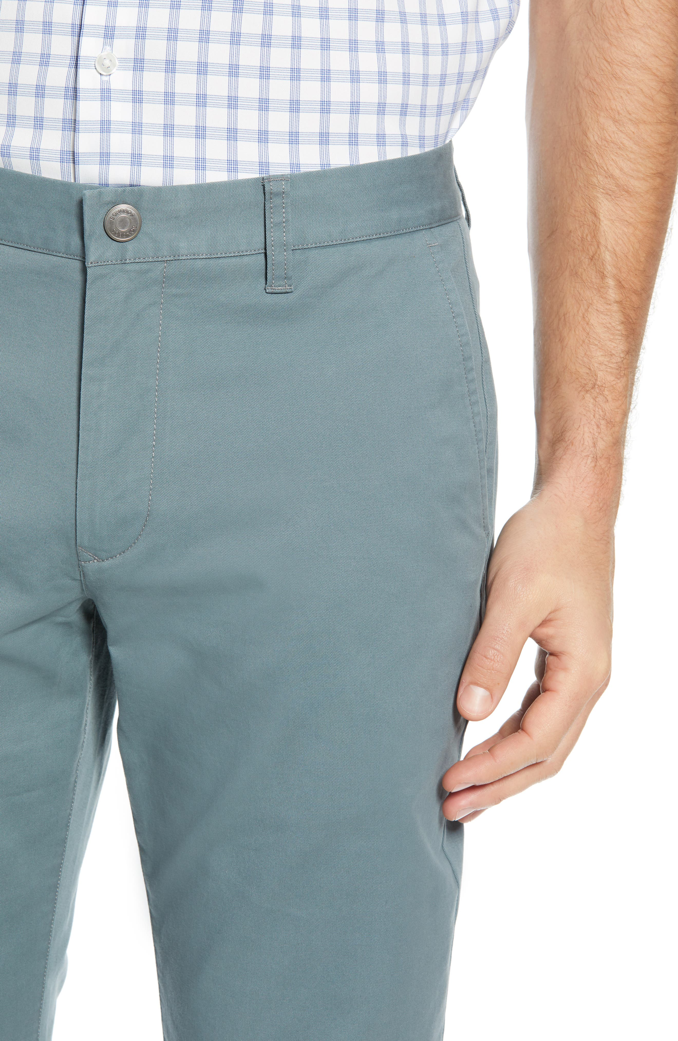 BONOBOS, Slim Fit Stretch Washed Chinos, Alternate thumbnail 5, color, NOPALES
