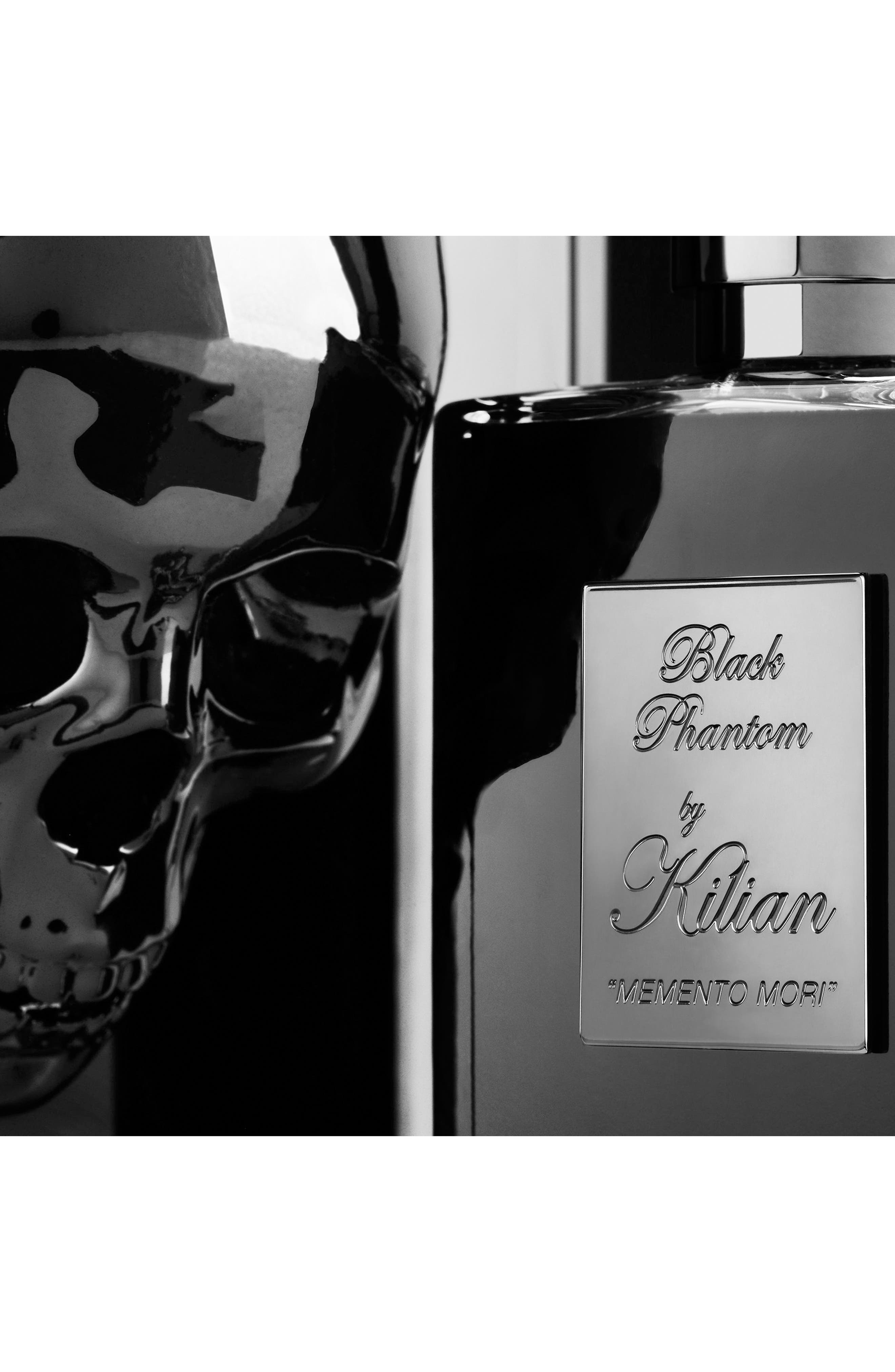 KILIAN, Black Phantom Memento Mori Eau de Parfum Refillable Spray, Alternate thumbnail 7, color, NO COLOR