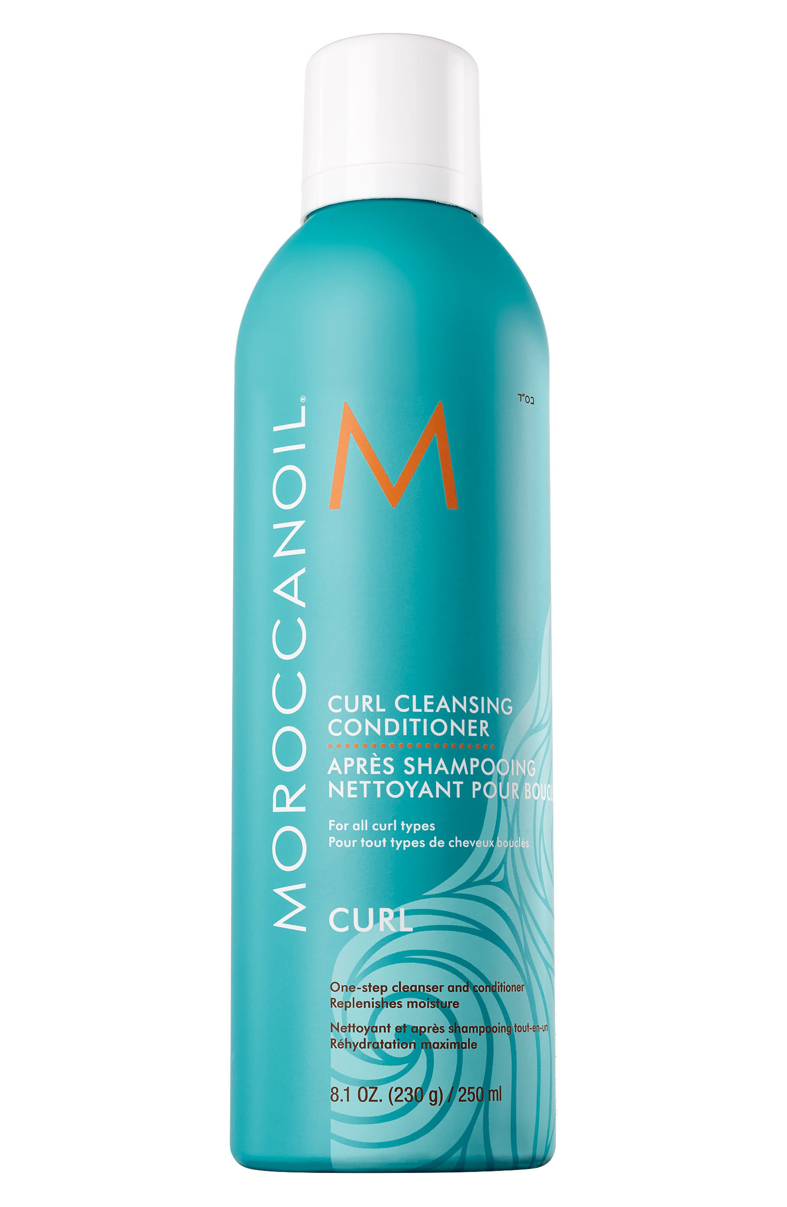 MOROCCANOIL<SUP>®</SUP>, Curl Cleansing Conditioner, Main thumbnail 1, color, NO COLOR