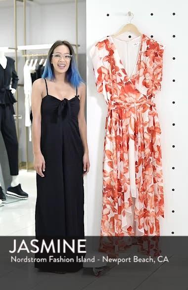 Floral Chiffon High/Low Maxi Dress, sales video thumbnail