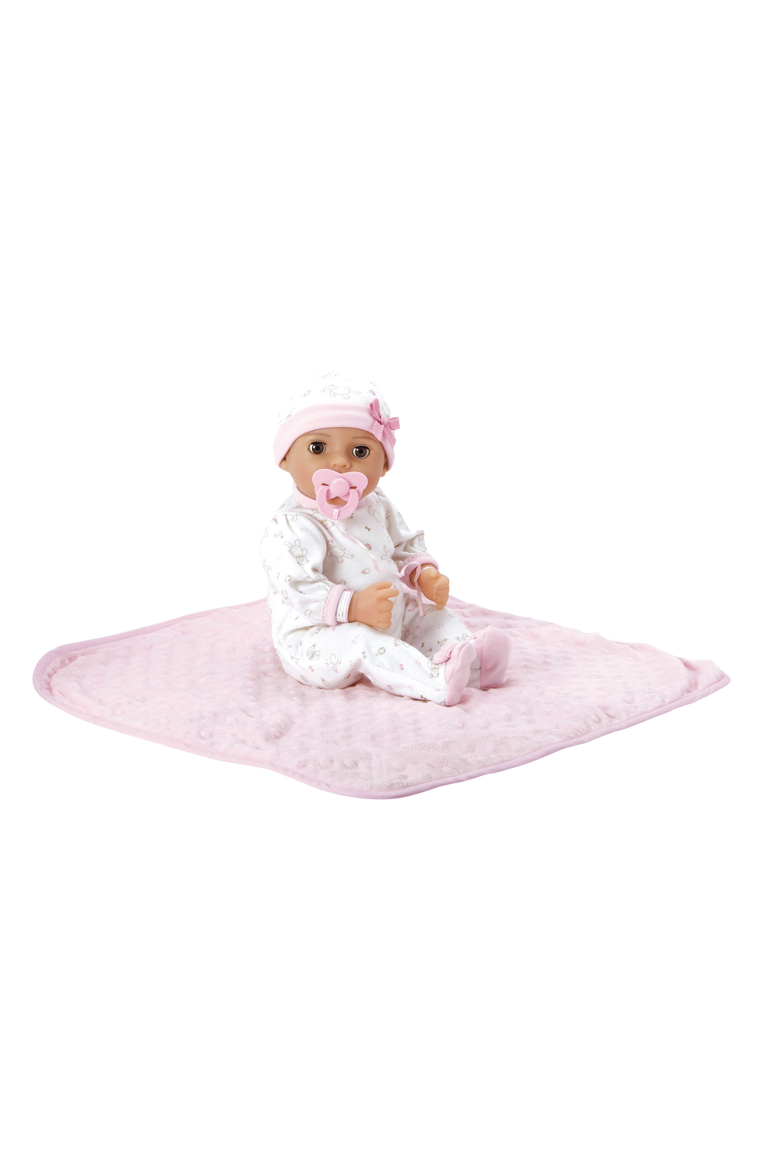 ADORA, Cherish Baby Doll with Adoption Certificate, Alternate thumbnail 3, color, CHERISH