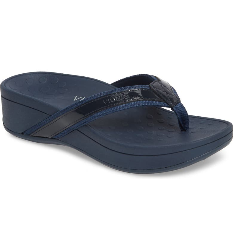 91021857d89 Vionic High Tide Wedge Flip Flop (Women)