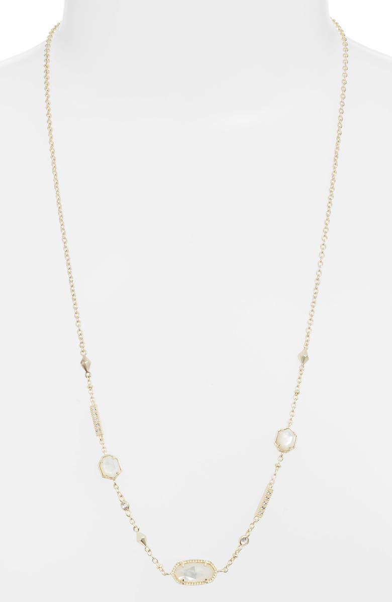 Kendra Scott Accessories MADDIE LONG STATION NECKLACE