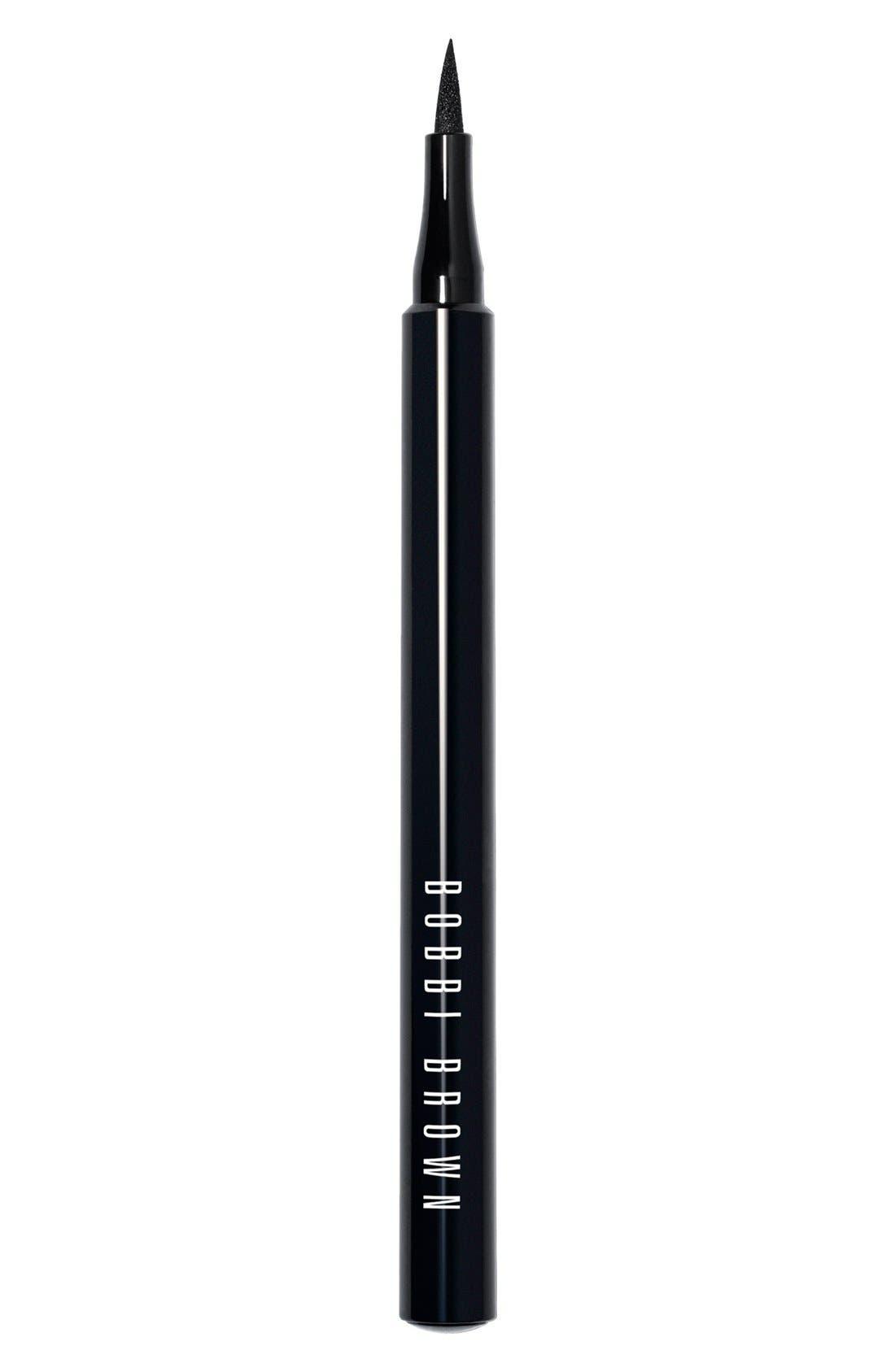 BOBBI BROWN Ink Eyeliner, Main, color, 001