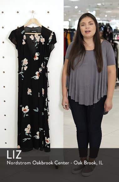Carina Midi Wrap Dress, sales video thumbnail