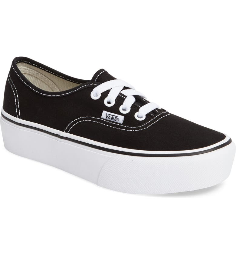 authentic vans platform