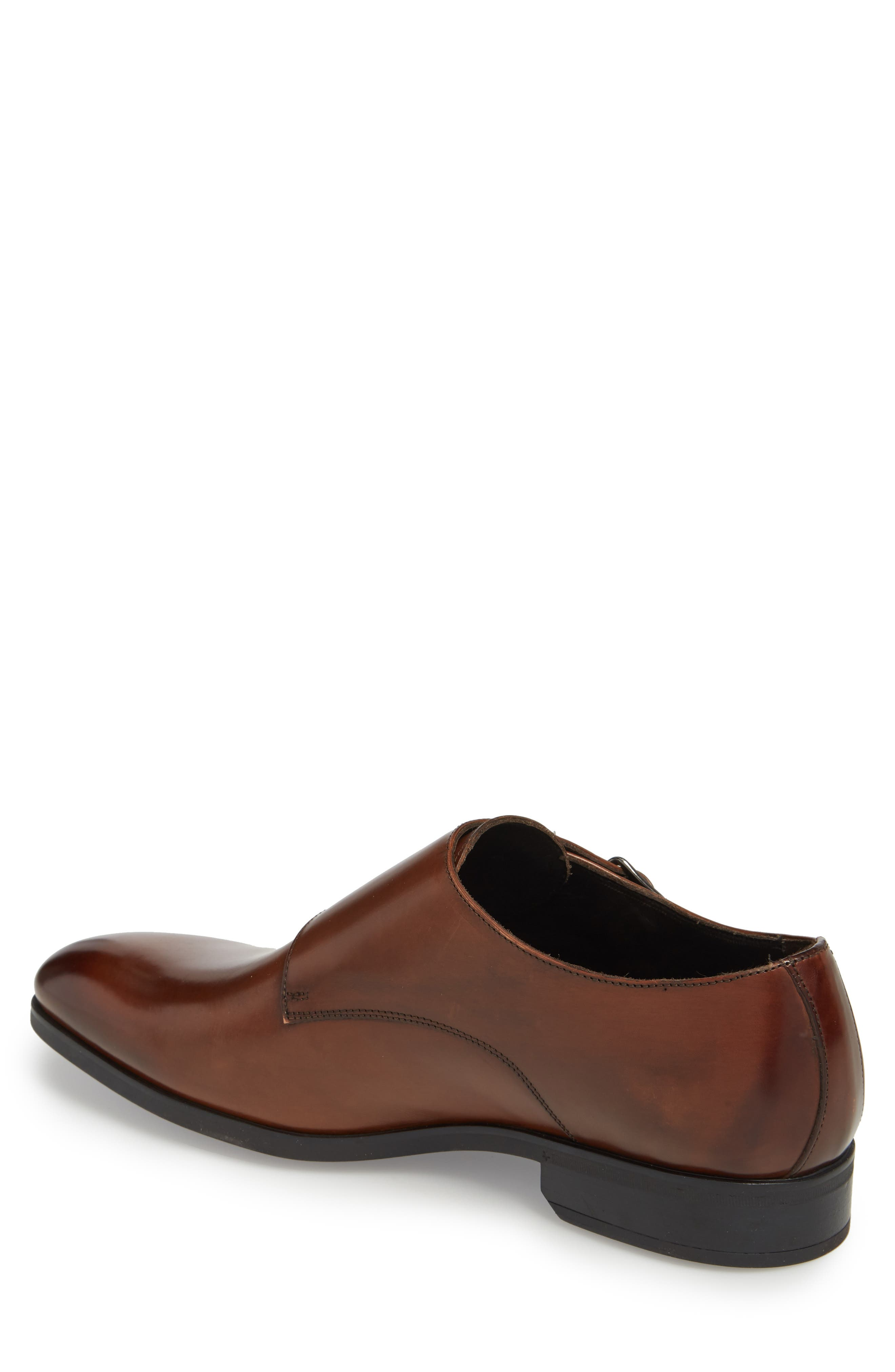 TO BOOT NEW YORK, Benjamin Double Monk Strap Shoe, Alternate thumbnail 2, color, TMORO LEATHER