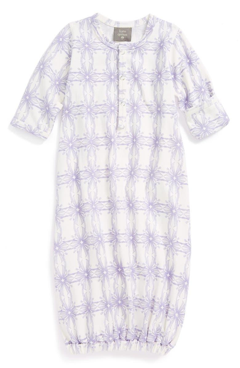 e9539929614 Kate Quinn Organics Organic Cotton Gown (Baby Girls) | Nordstrom