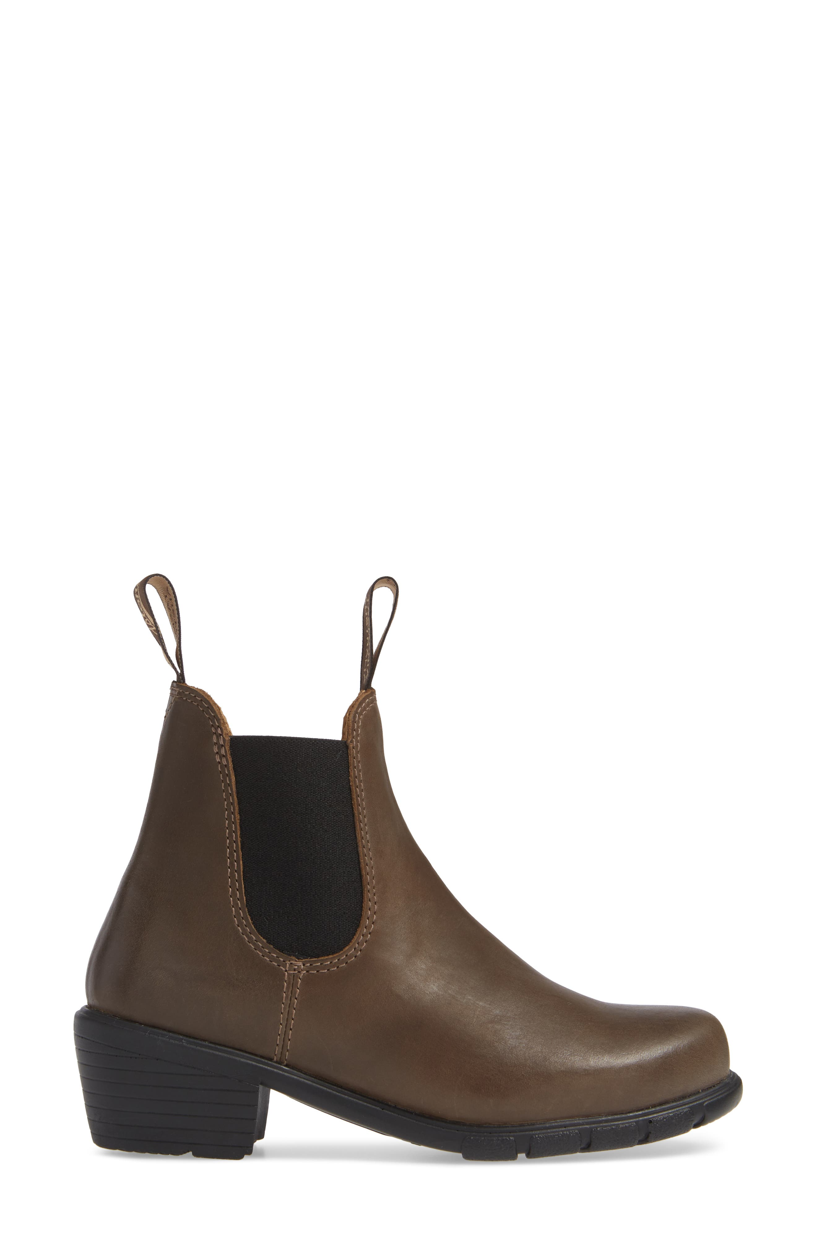 BLUNDSTONE FOOTWEAR, Blundstone 1671 Chelsea Boot, Alternate thumbnail 3, color, ANTIQUE TAUPE LEATHER