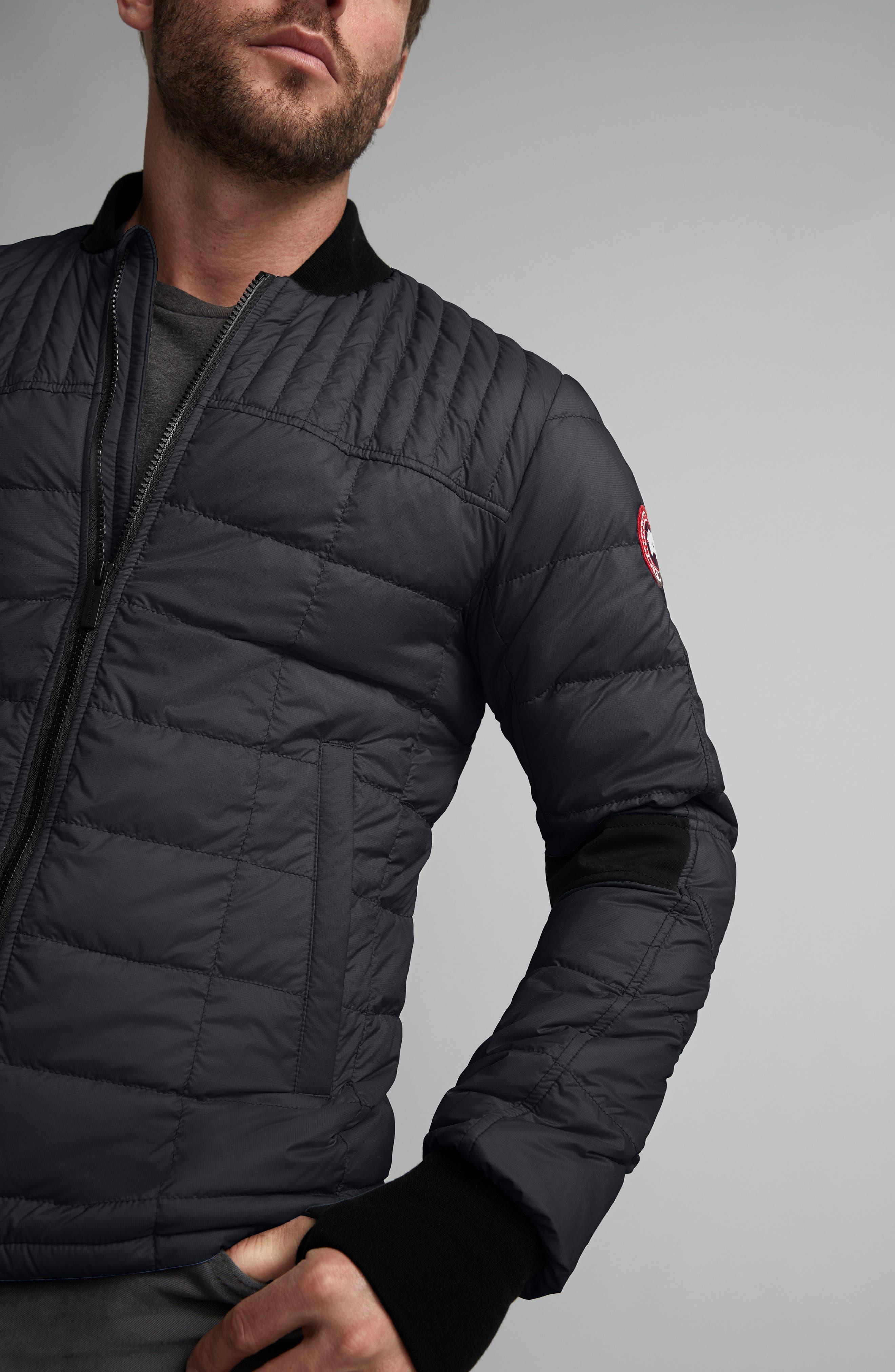CANADA GOOSE, Dunham Slim Fit Packable Down Jacket, Alternate thumbnail 2, color, 001