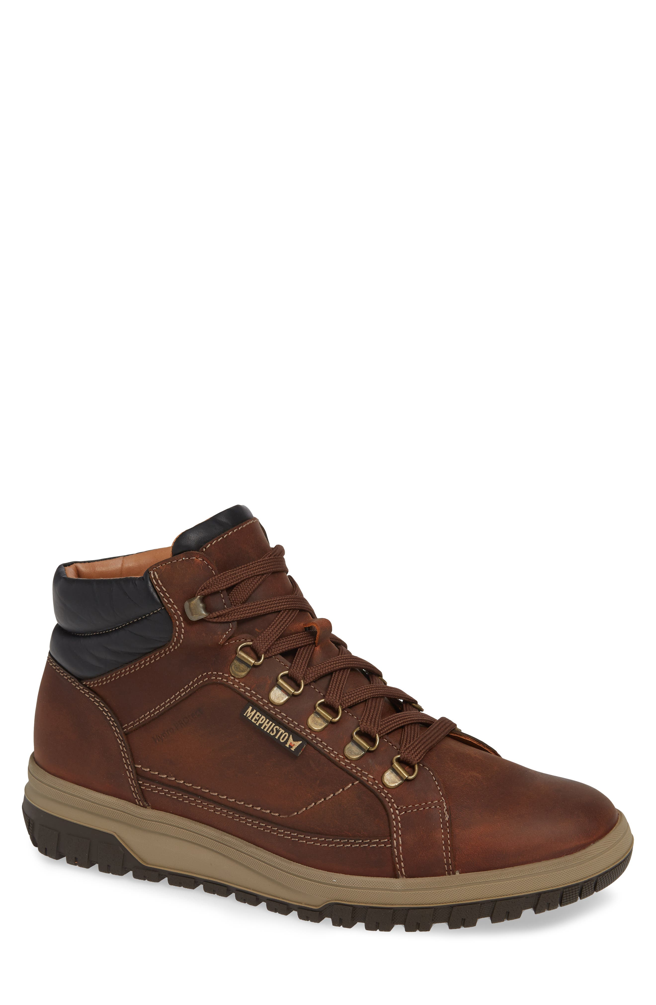 MEPHISTO Pitt Mid Lace-Up Boot, Main, color, 213