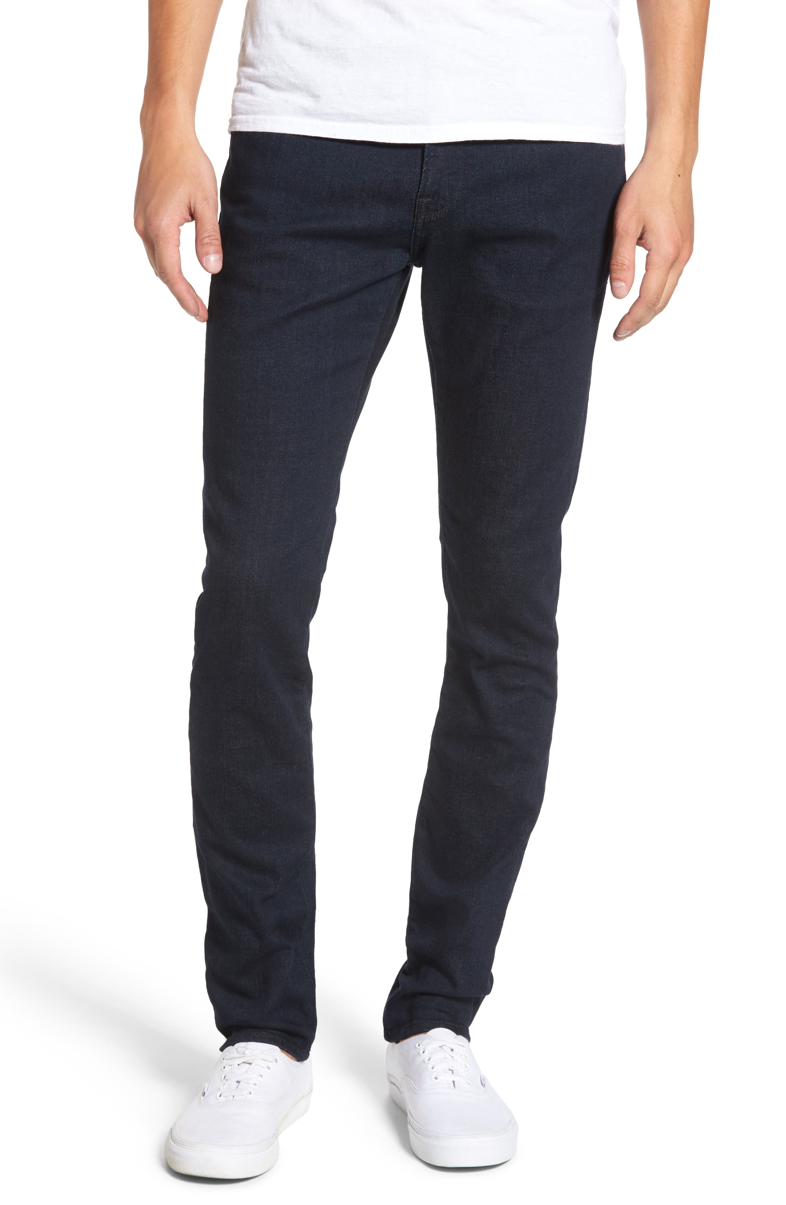 FRAME, L'Homme Skinny Fit Jeans, Main thumbnail 1, color, EDISON