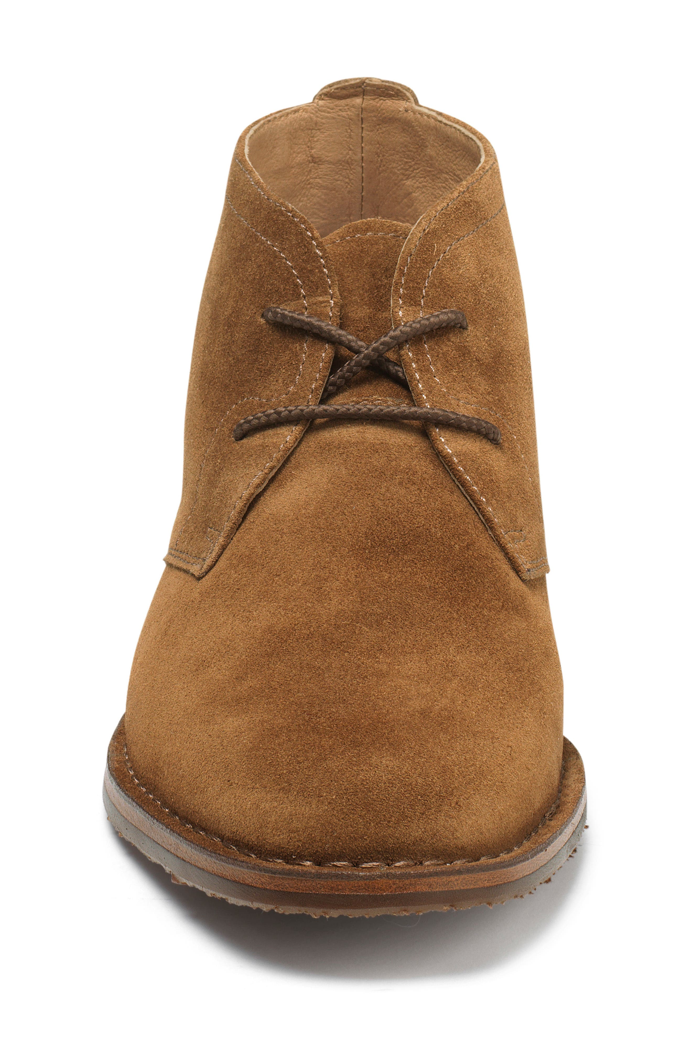 TRASK, 'Brady' Chukka Boot, Alternate thumbnail 3, color, SNUFF SUEDE