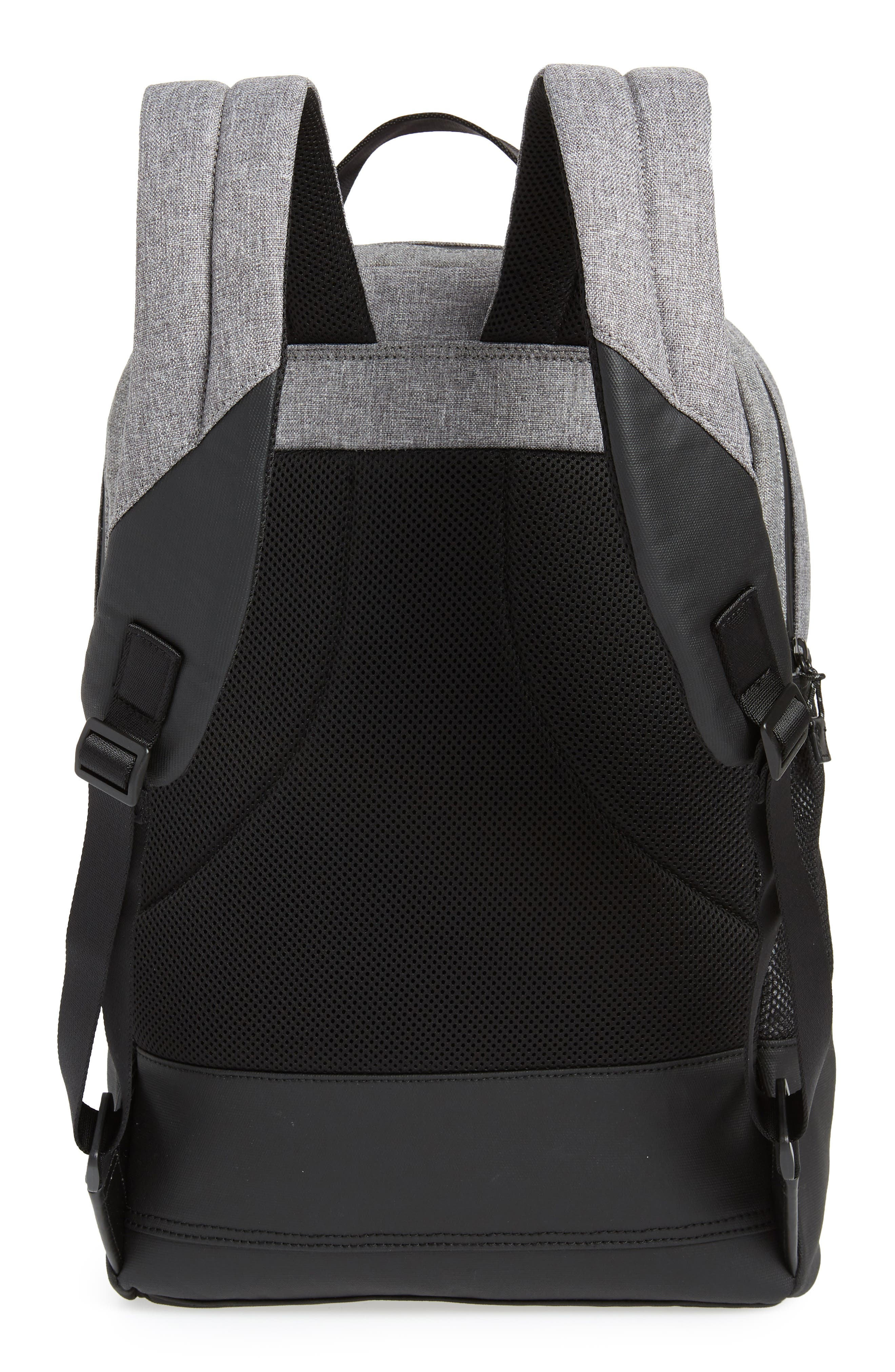 COLE HAAN, Sawyer Trail Backpack, Alternate thumbnail 3, color, HEATHERED GREY