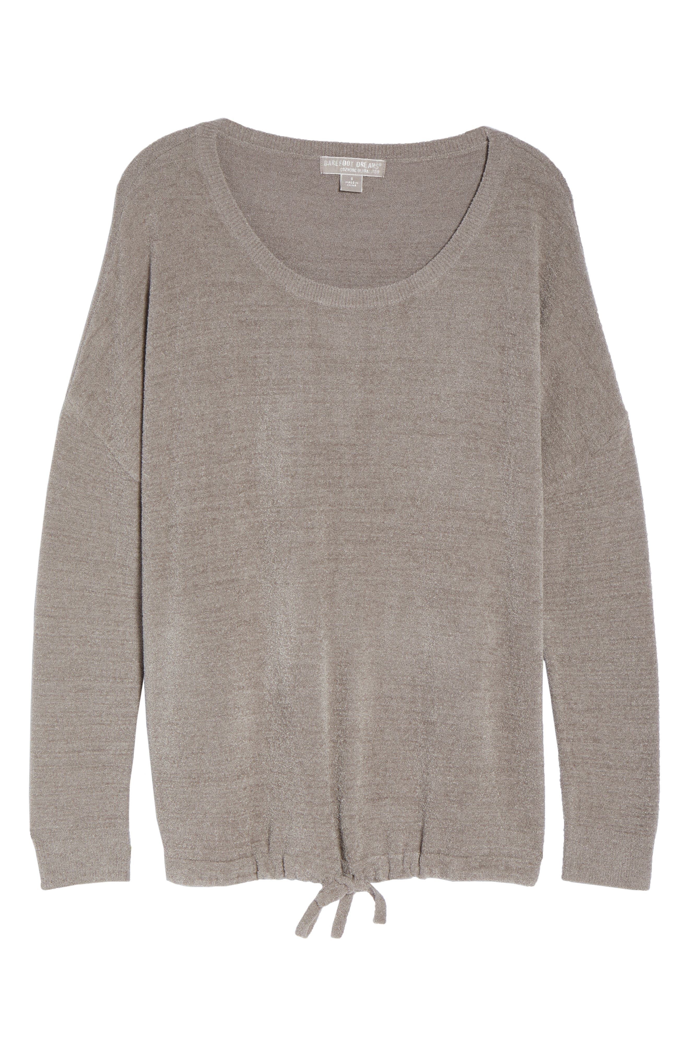 BAREFOOT DREAMS<SUP>®</SUP>, Cozychic Ultra Lite<sup>®</sup> Lounge Pullover, Alternate thumbnail 6, color, BEACH ROCK