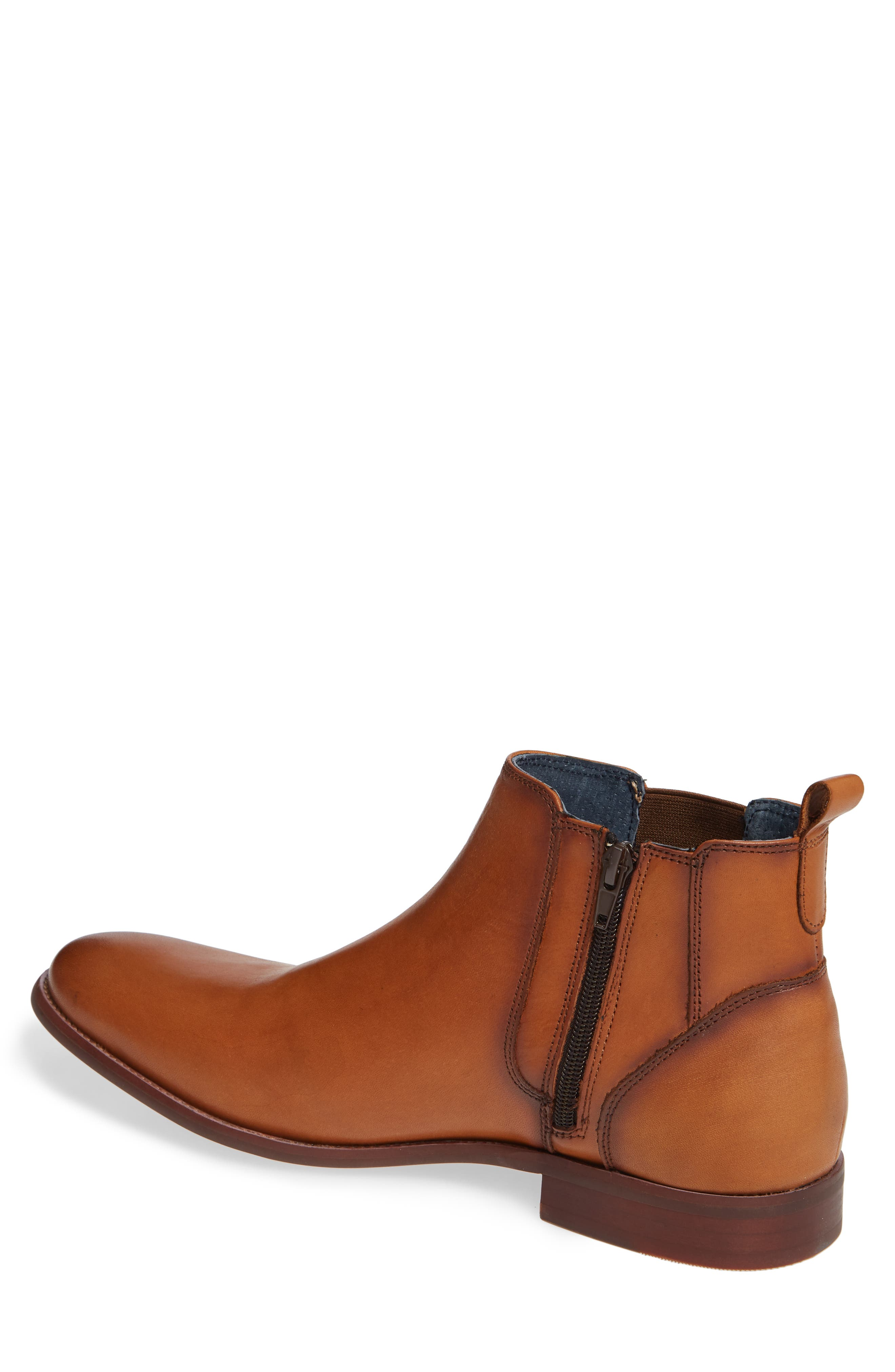 JUMP, Collin Plain Toe Chelsea Boot, Alternate thumbnail 2, color, TAN