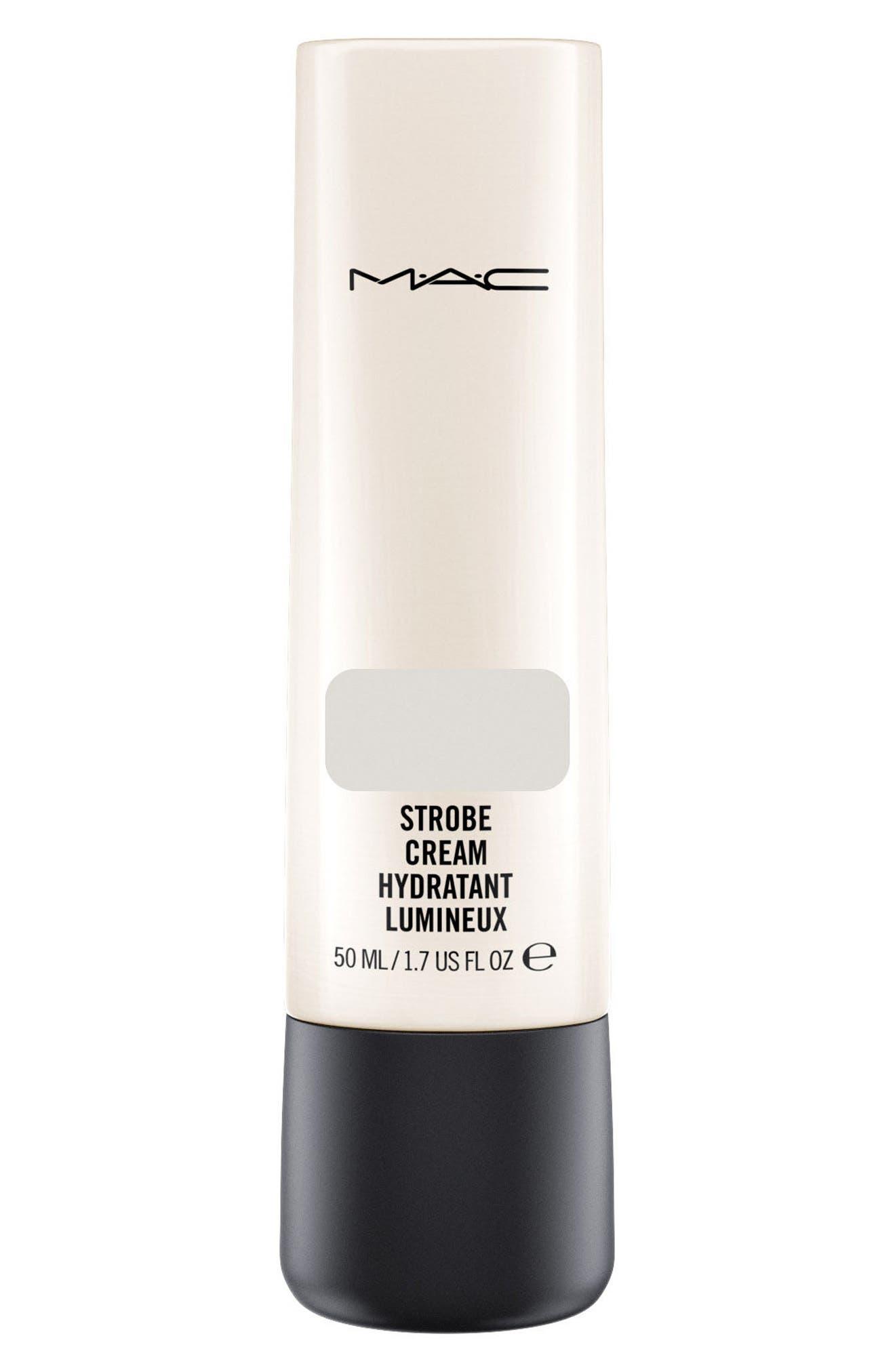 MAC COSMETICS, MAC Strobe Cream, Main thumbnail 1, color, SILVERLITE