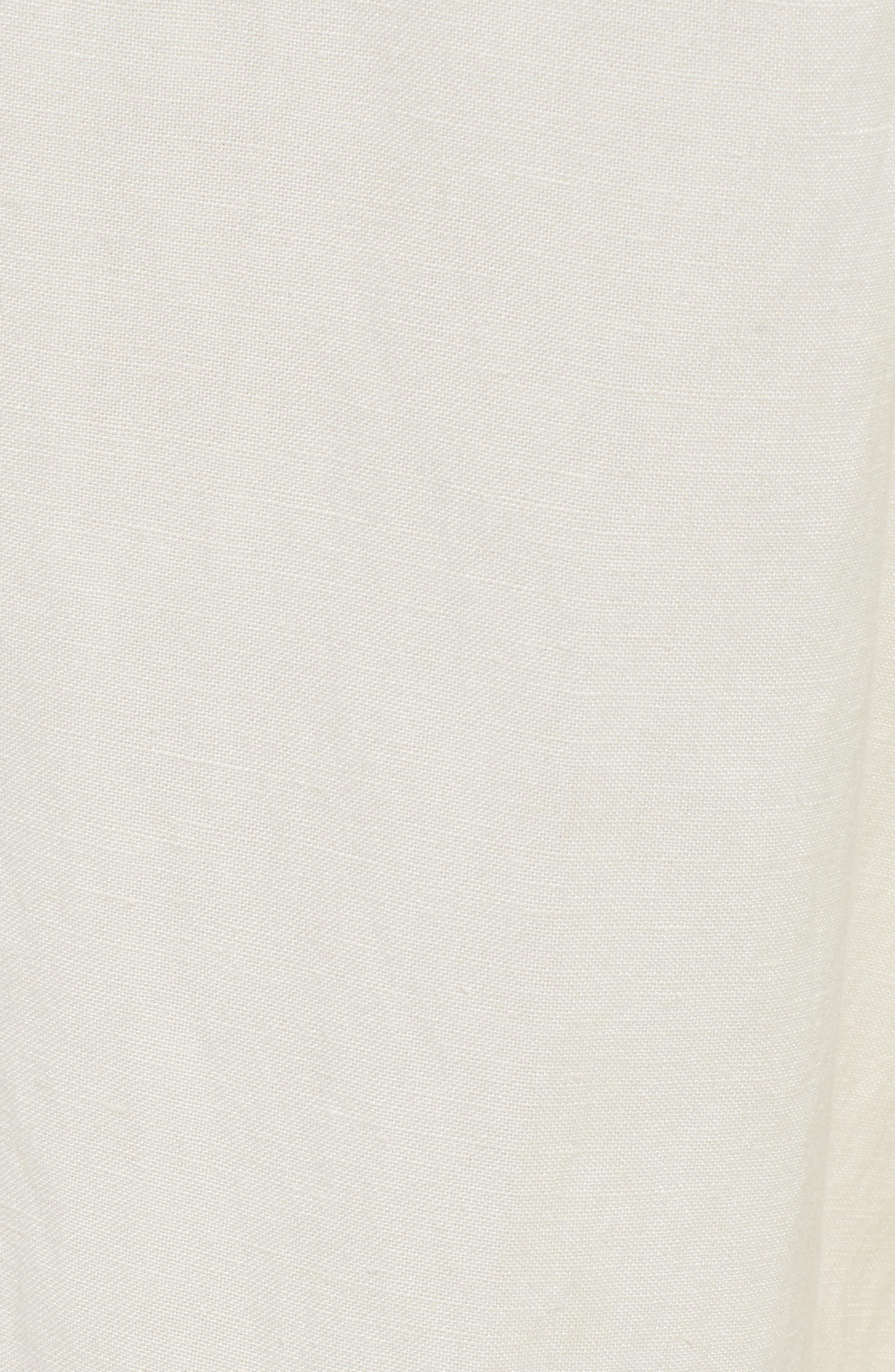 RAILS, Jess Paperbag Waist Pants, Alternate thumbnail 6, color, PARCHMENT