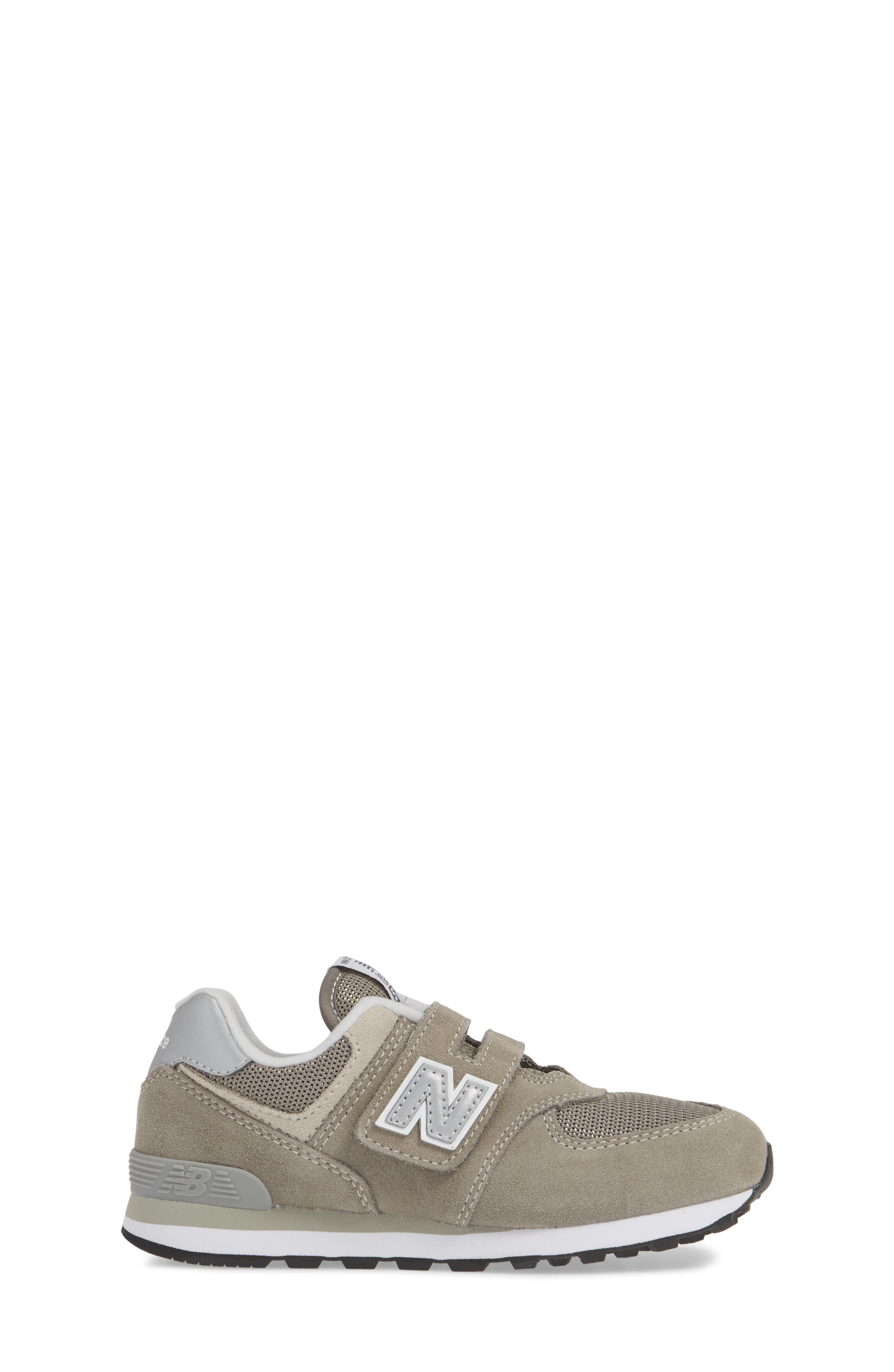 NEW BALANCE, 574 Retro Surf Sneaker, Alternate thumbnail 3, color, GREY